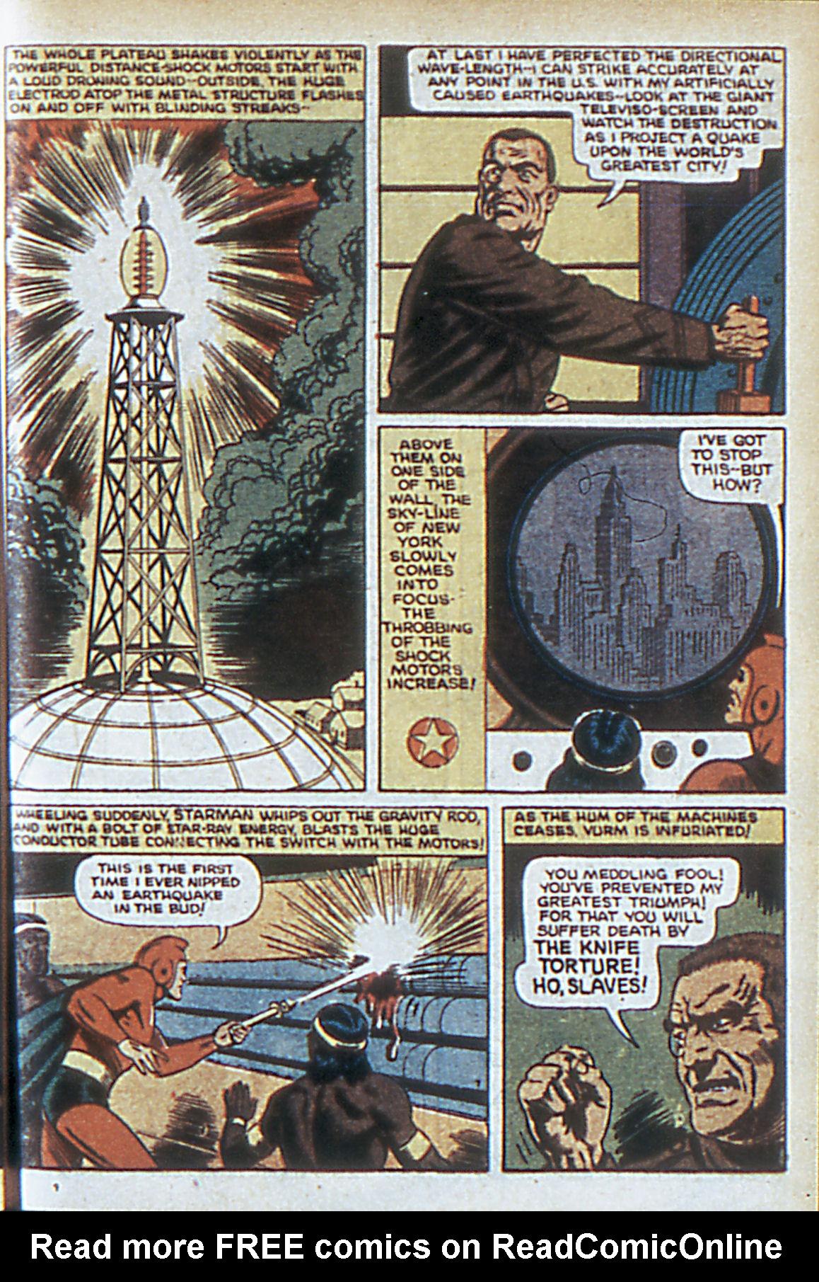 Read online Adventure Comics (1938) comic -  Issue #63 - 10