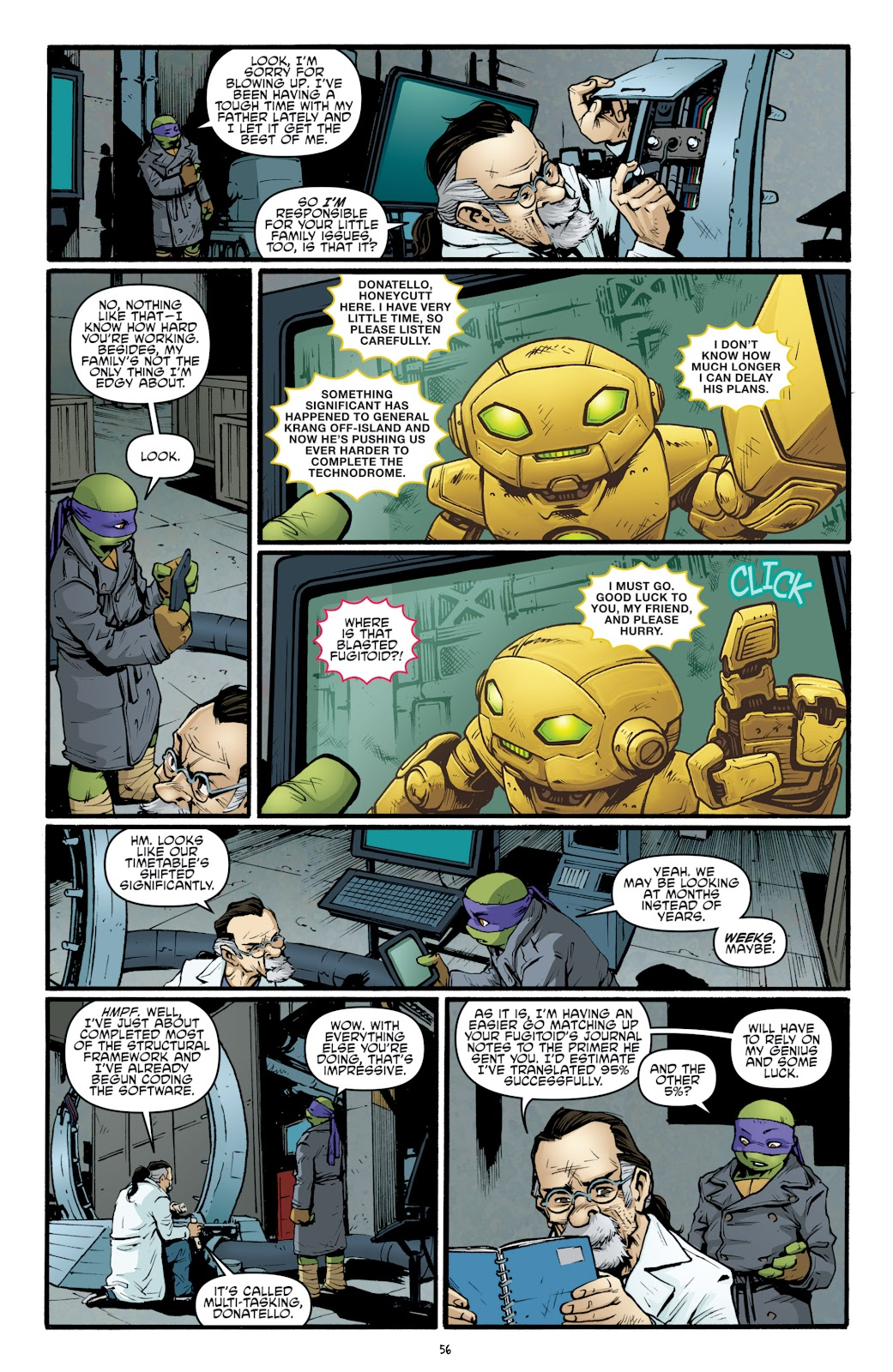 Read online Teenage Mutant Ninja Turtles: The IDW Collection comic -  Issue # TPB 5 (Part 2) - 33