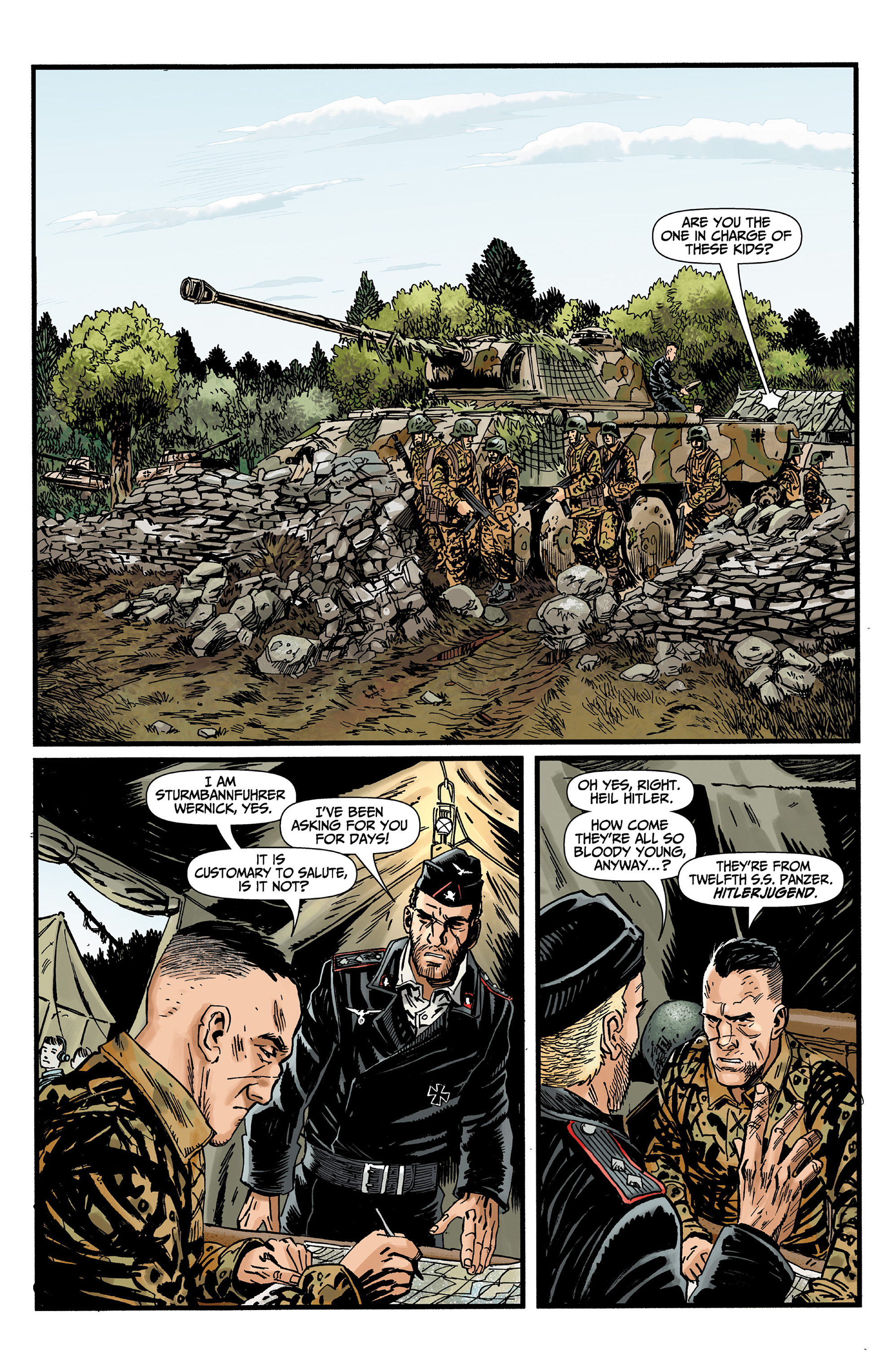 Read online World of Tanks comic -  Issue #3 - 6