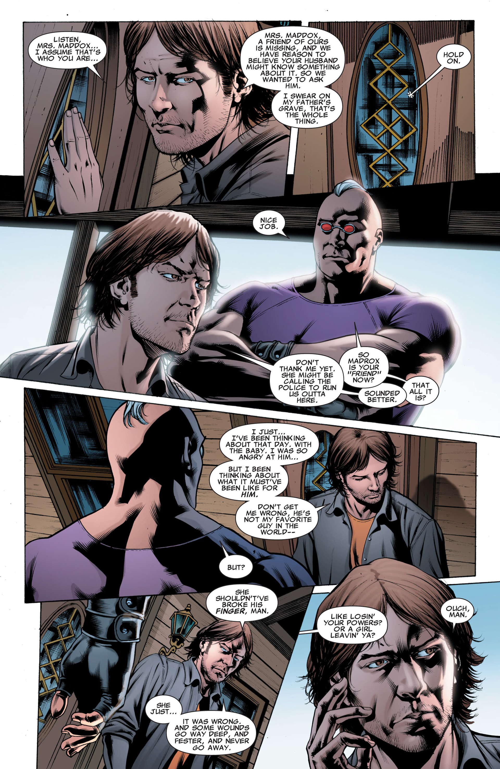Read online X-Factor (2006) comic -  Issue #43 - 10