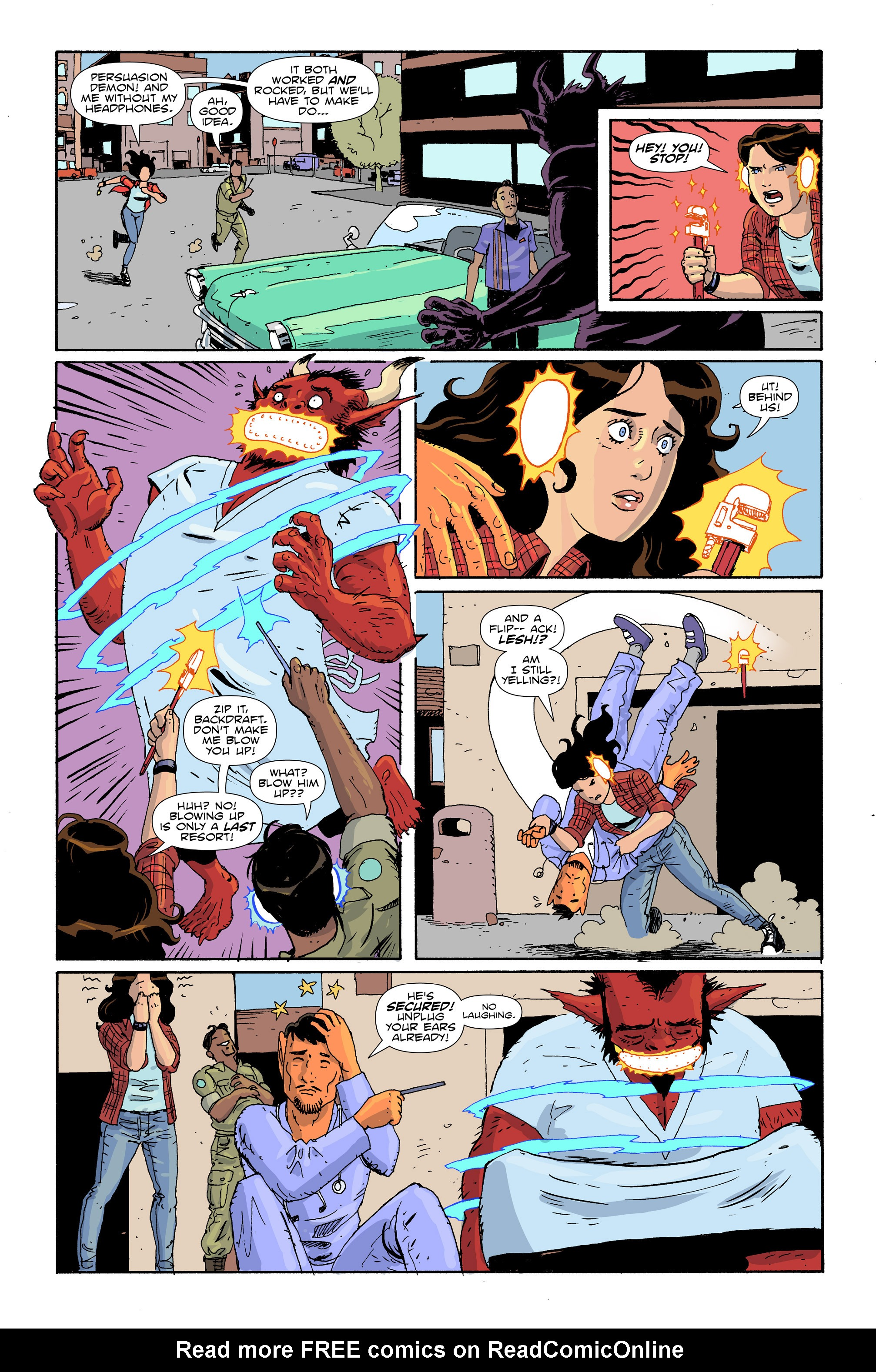Read online Amelia Cole Versus The End of Everything comic -  Issue #30 - 8