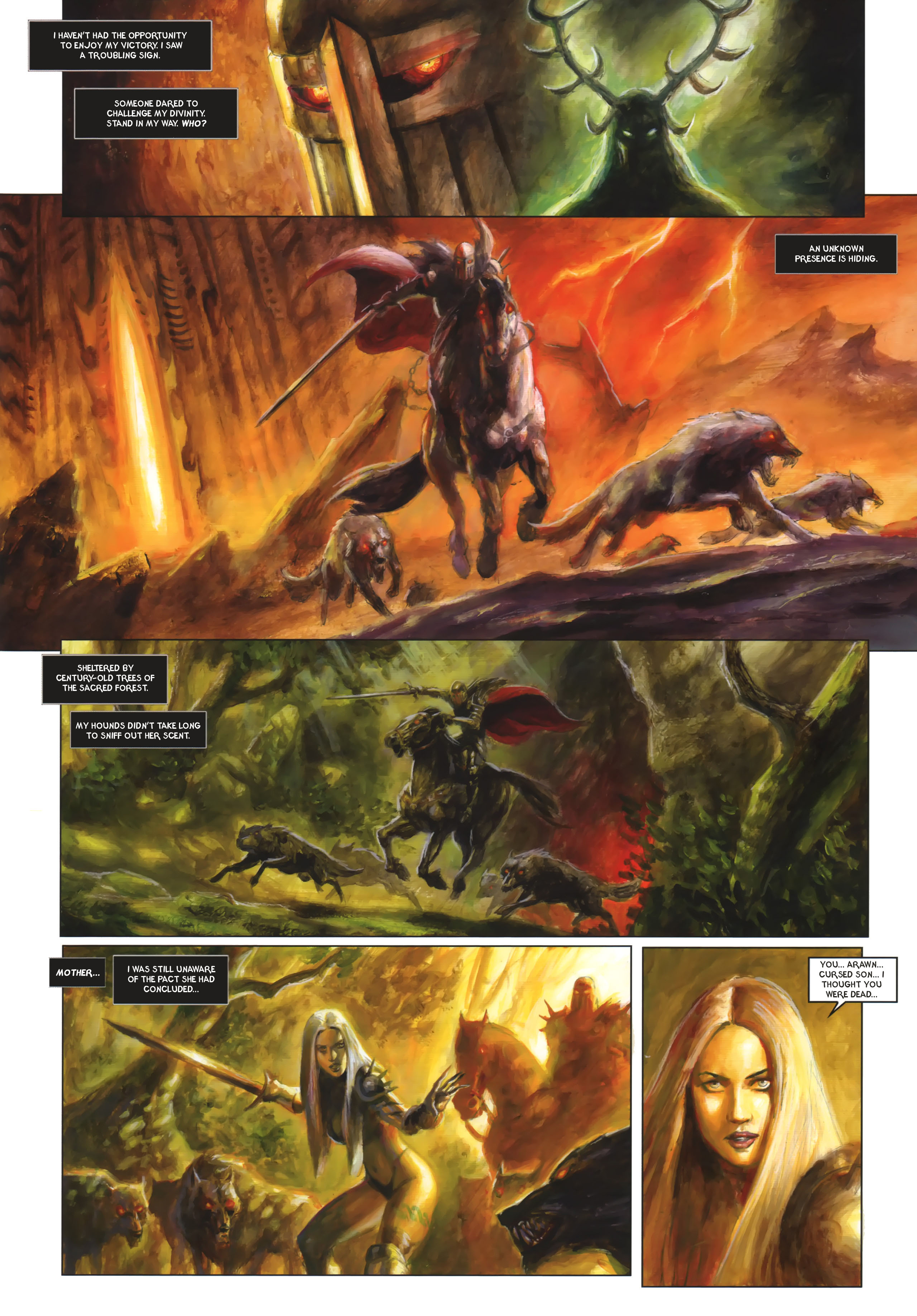 Read online Arawn comic -  Issue #6 - 46