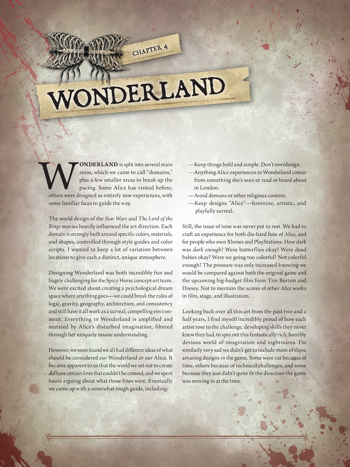 Read online The Art of Alice: Madness Returns comic -  Issue # TPB (Part 1) - 66