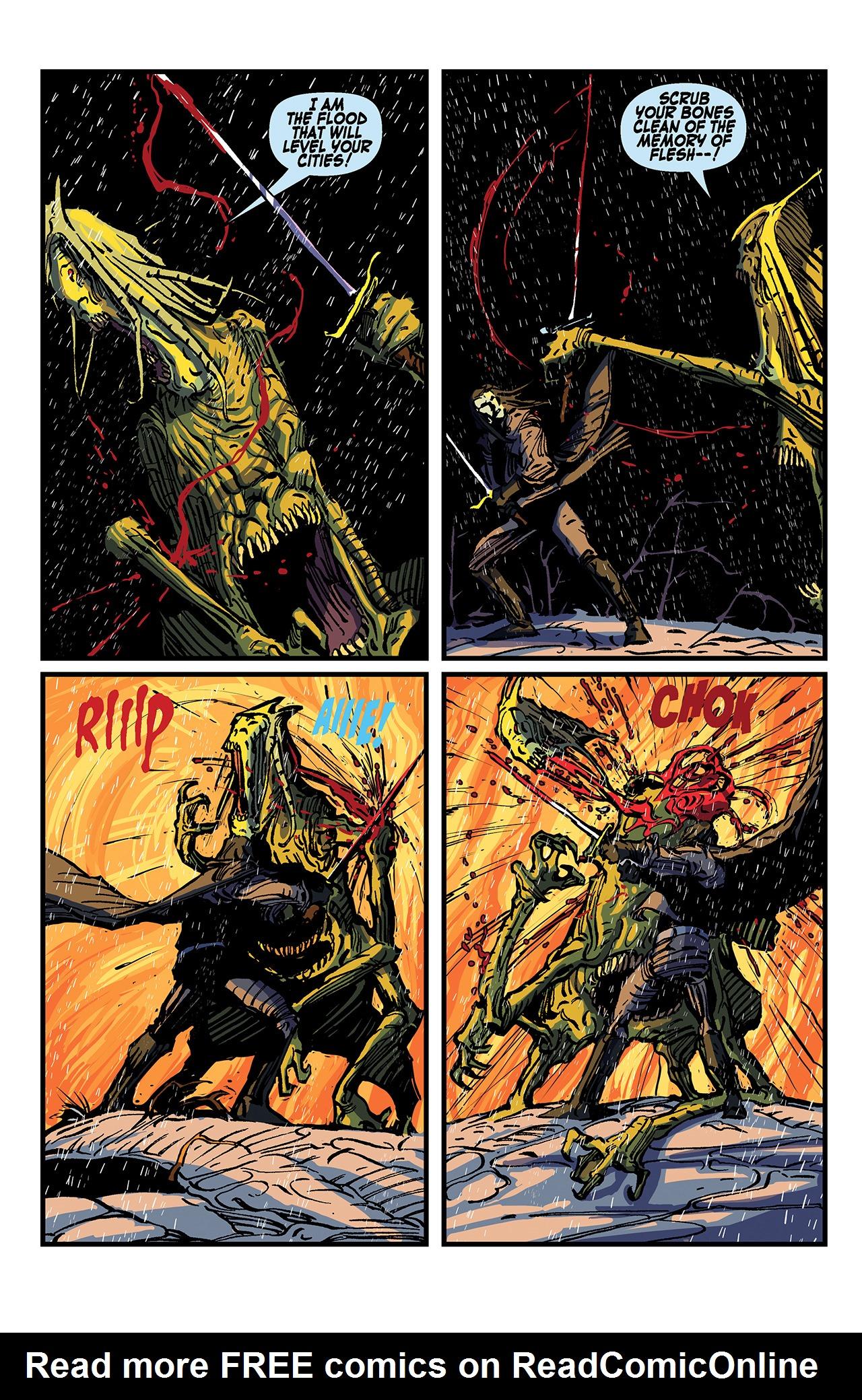 Read online Solomon Kane: Death's Black Riders comic -  Issue #4 - 23