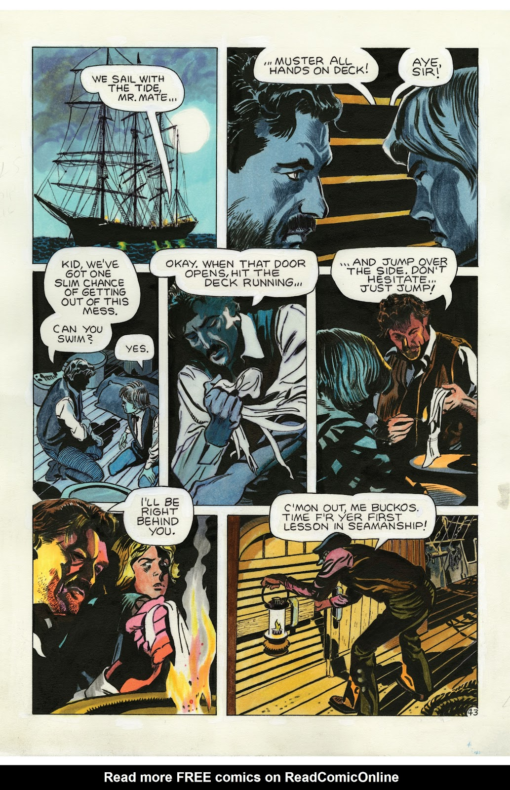 Read online Doug Wildey's Rio: The Complete Saga comic -  Issue # TPB (Part 2) - 78