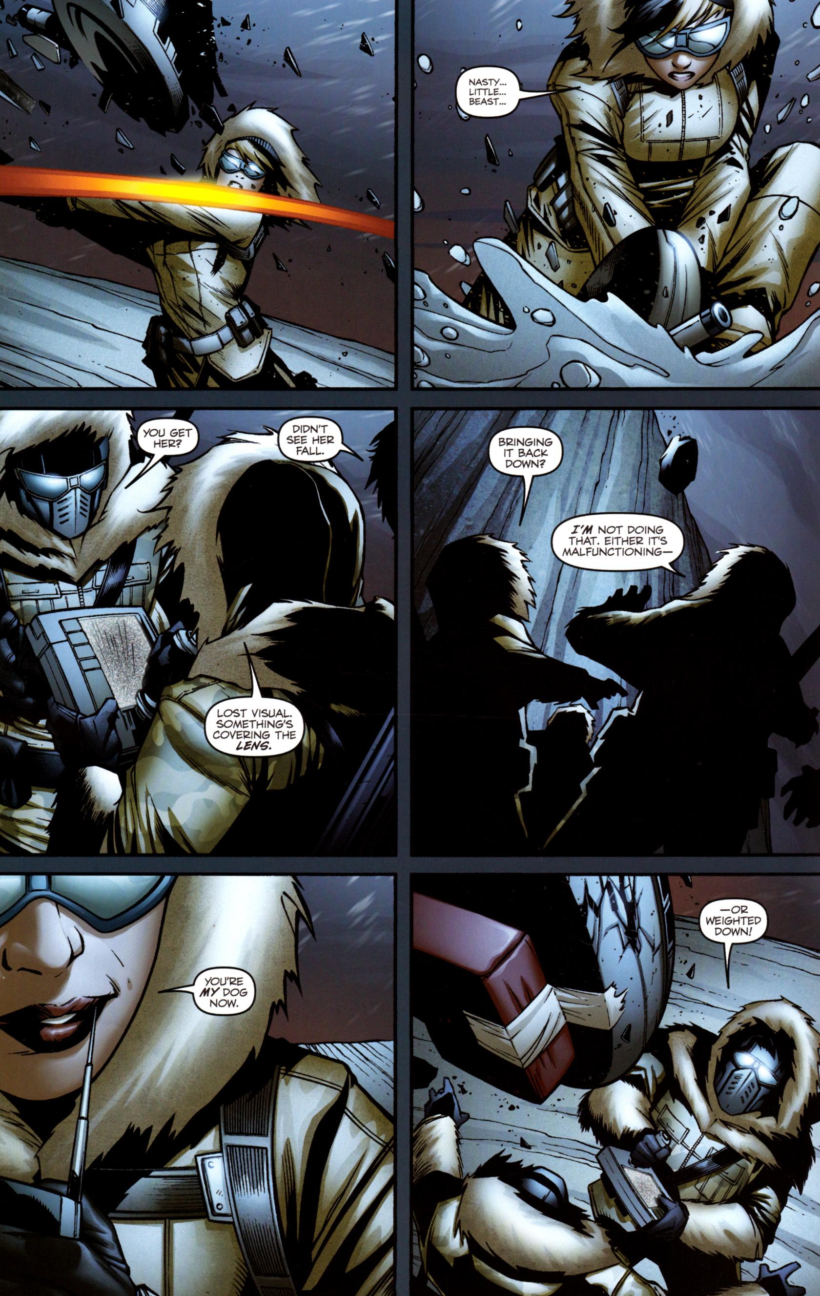 Read online G.I. Joe: Snake Eyes comic -  Issue #3 - 17