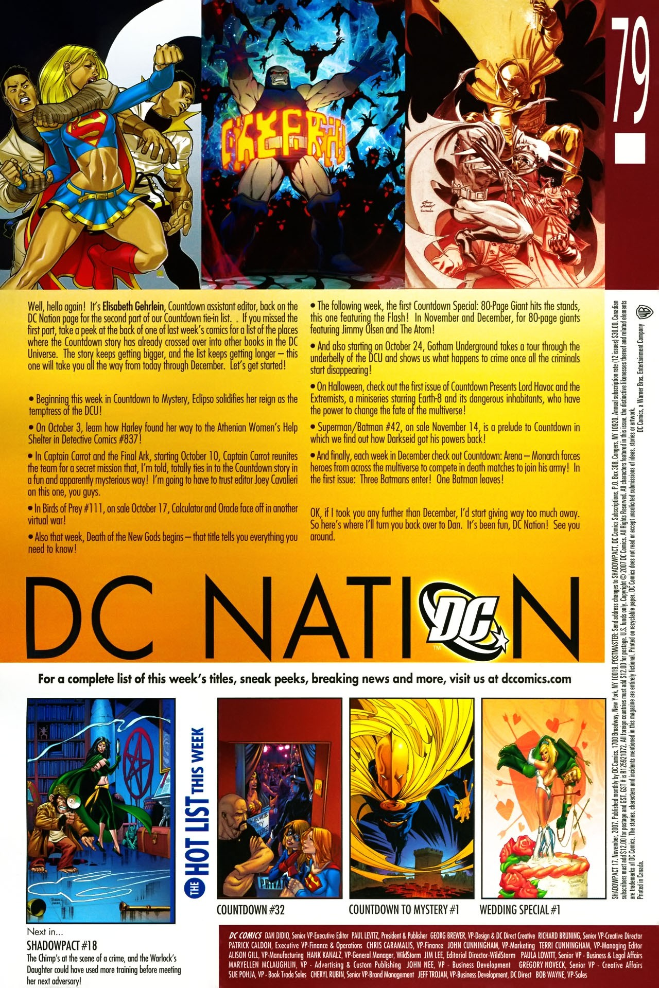 Read online Shadowpact comic -  Issue #17 - 24