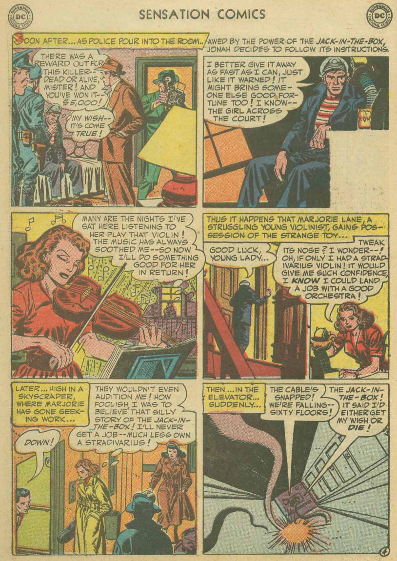Read online Sensation (Mystery) Comics comic -  Issue #107 - 6