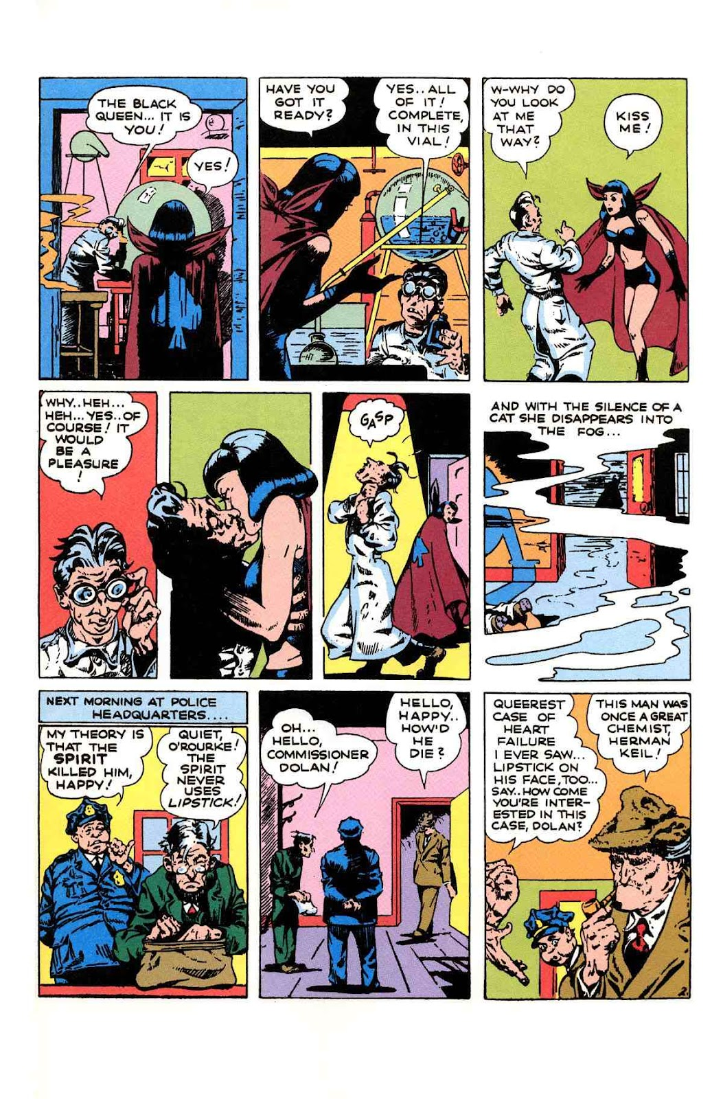 Read online Will Eisner's The Spirit Archives comic -  Issue # TPB 1 (Part 2) - 64