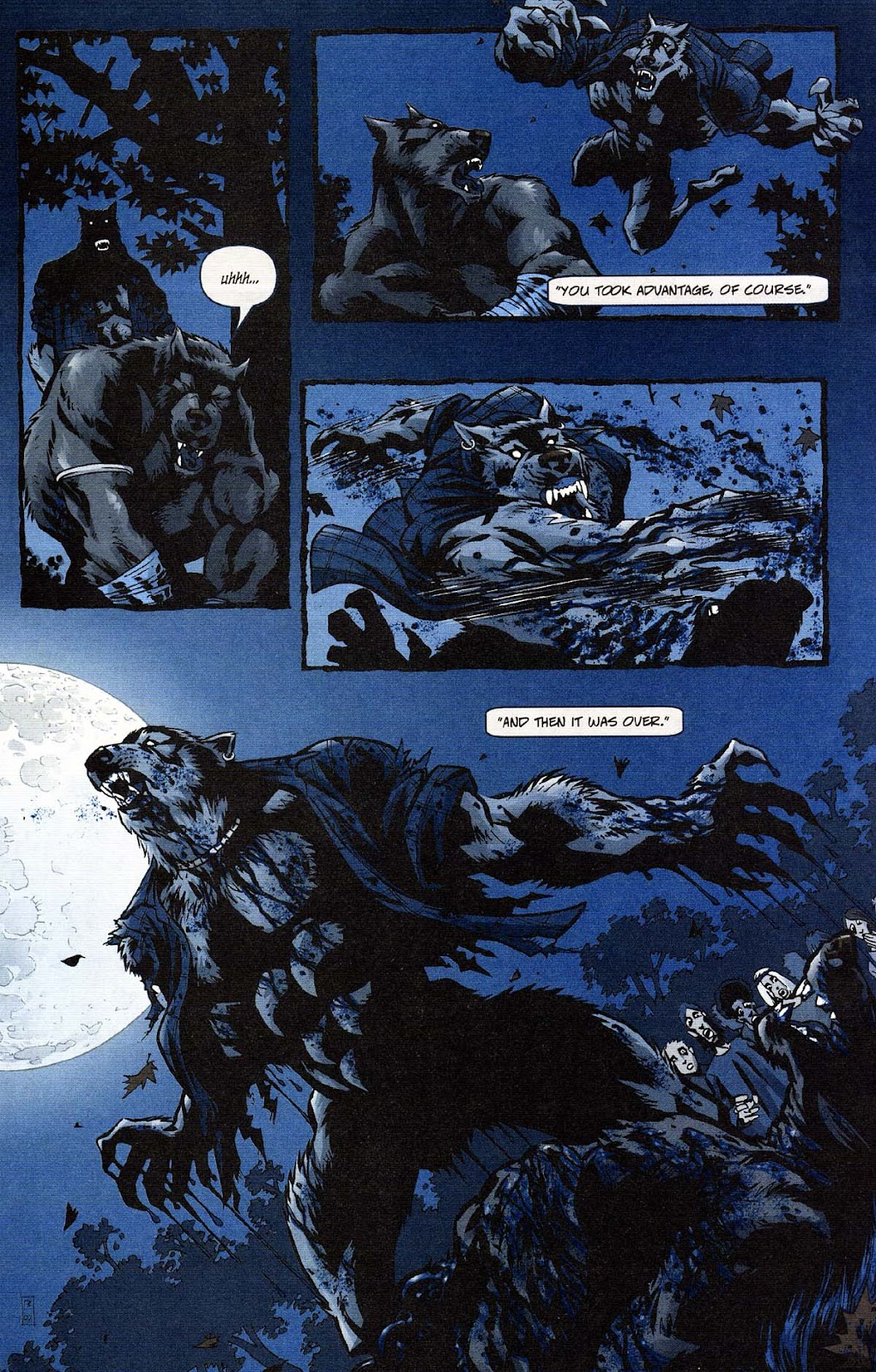 Read online Werewolf the Apocalypse comic -  Issue # Get of Fenris - 26