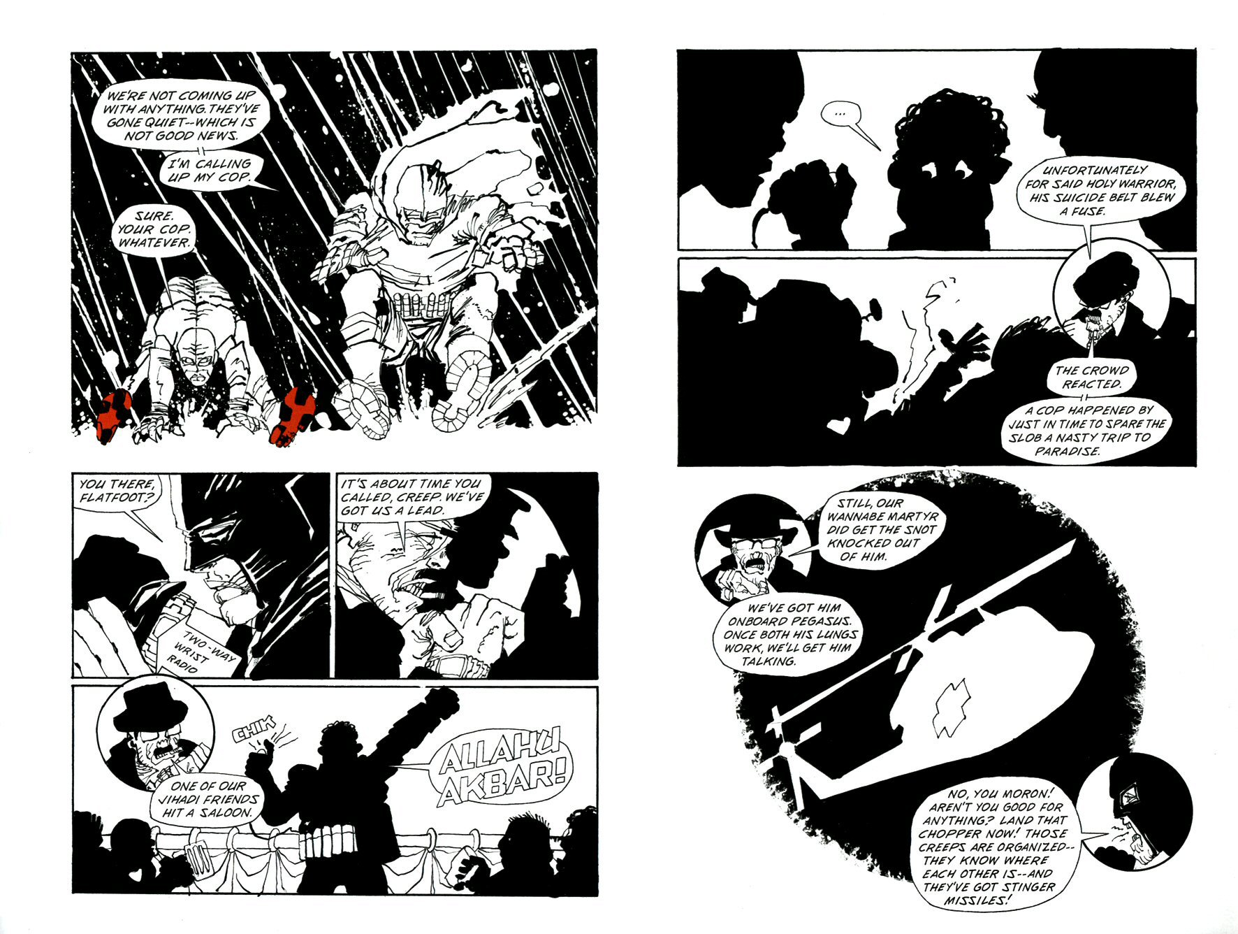 Read online Frank Miller's Holy Terror comic -  Issue # TPB - 76