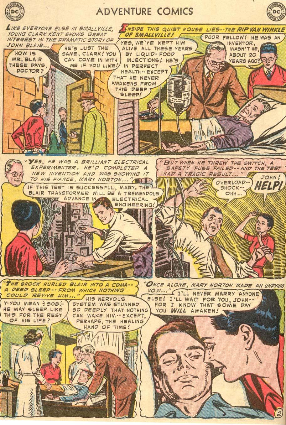 Read online Adventure Comics (1938) comic -  Issue #208 - 4