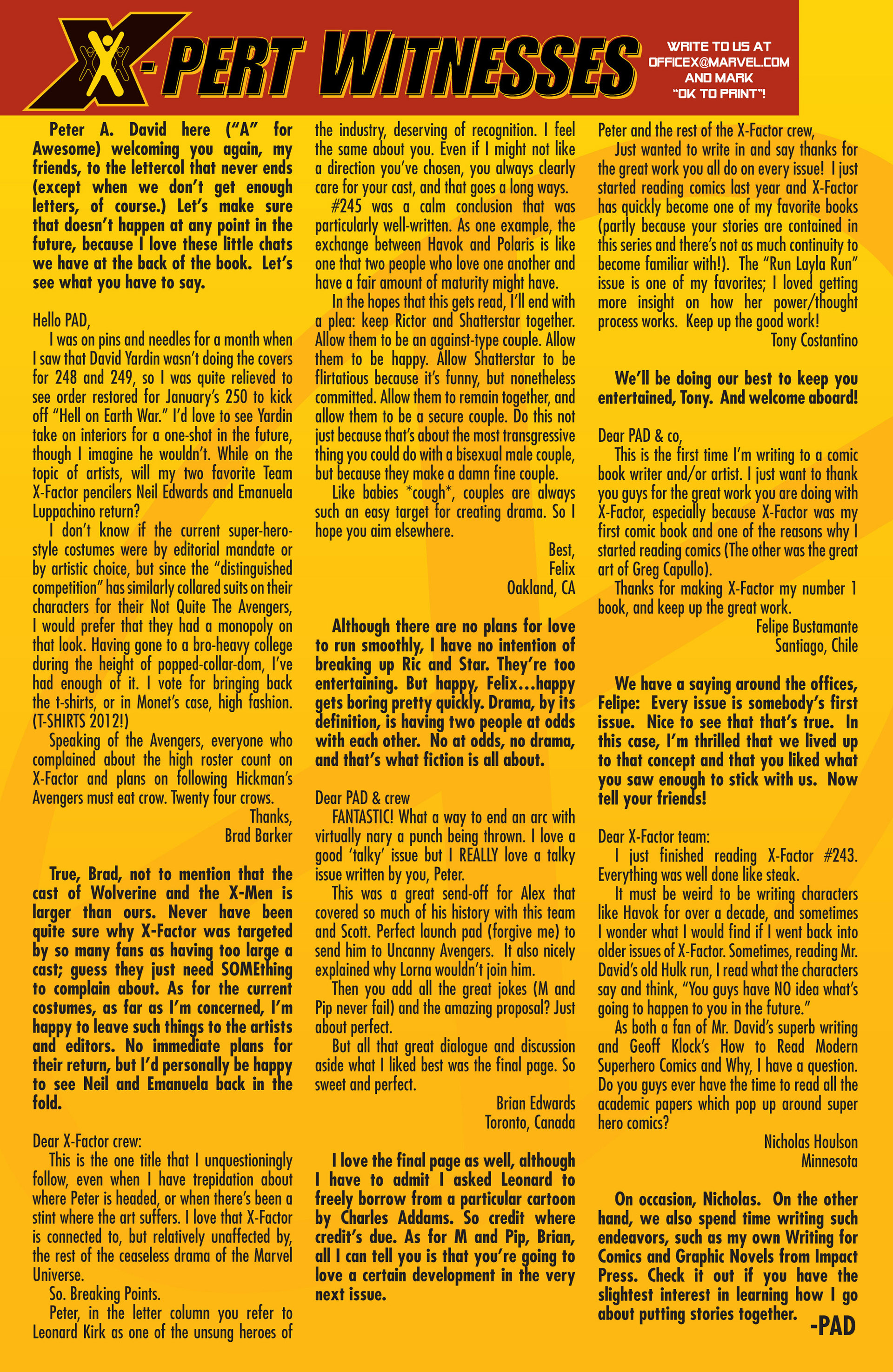Read online X-Factor (1986) comic -  Issue #247 - 23