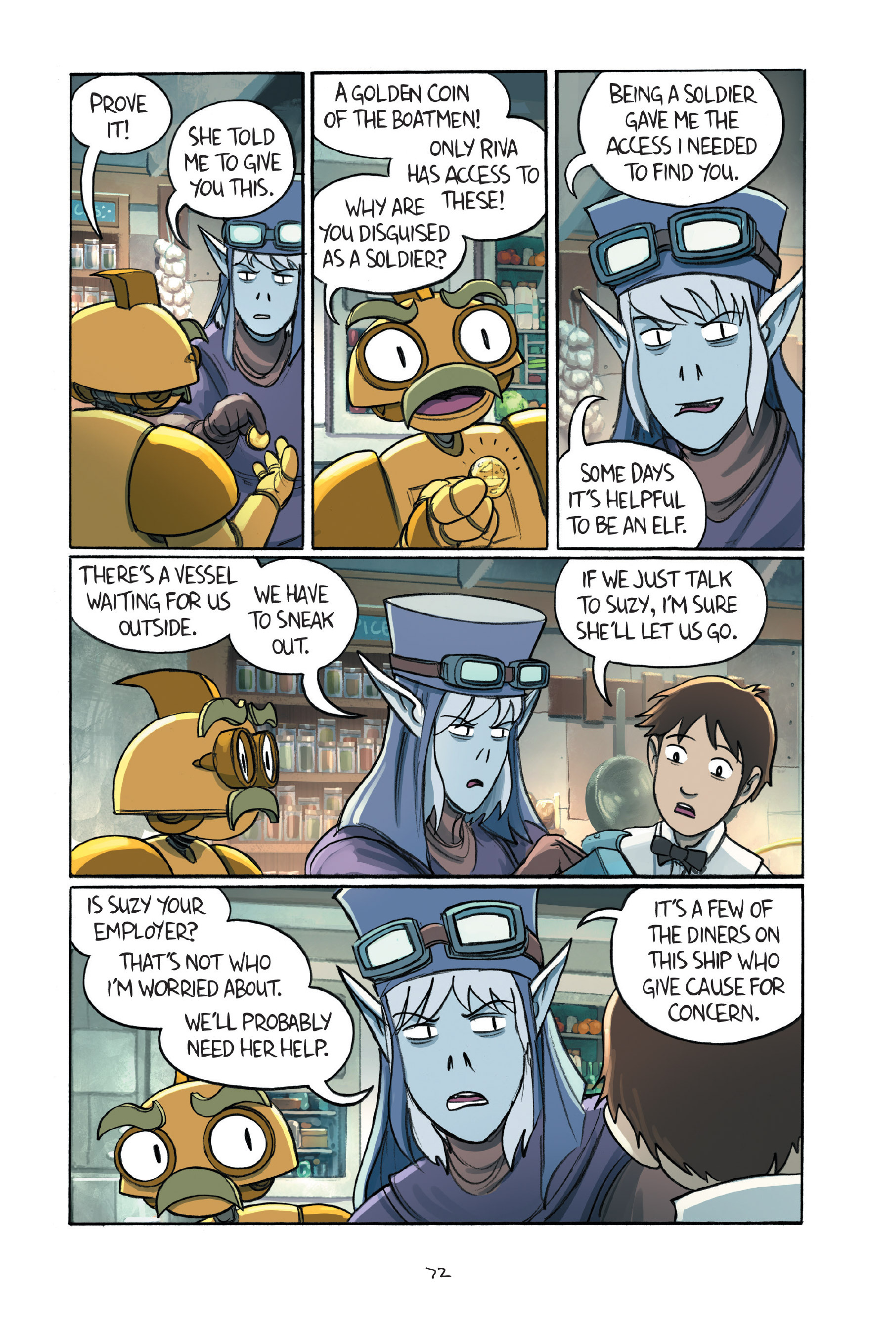 Read online Amulet comic -  Issue #7 - 73