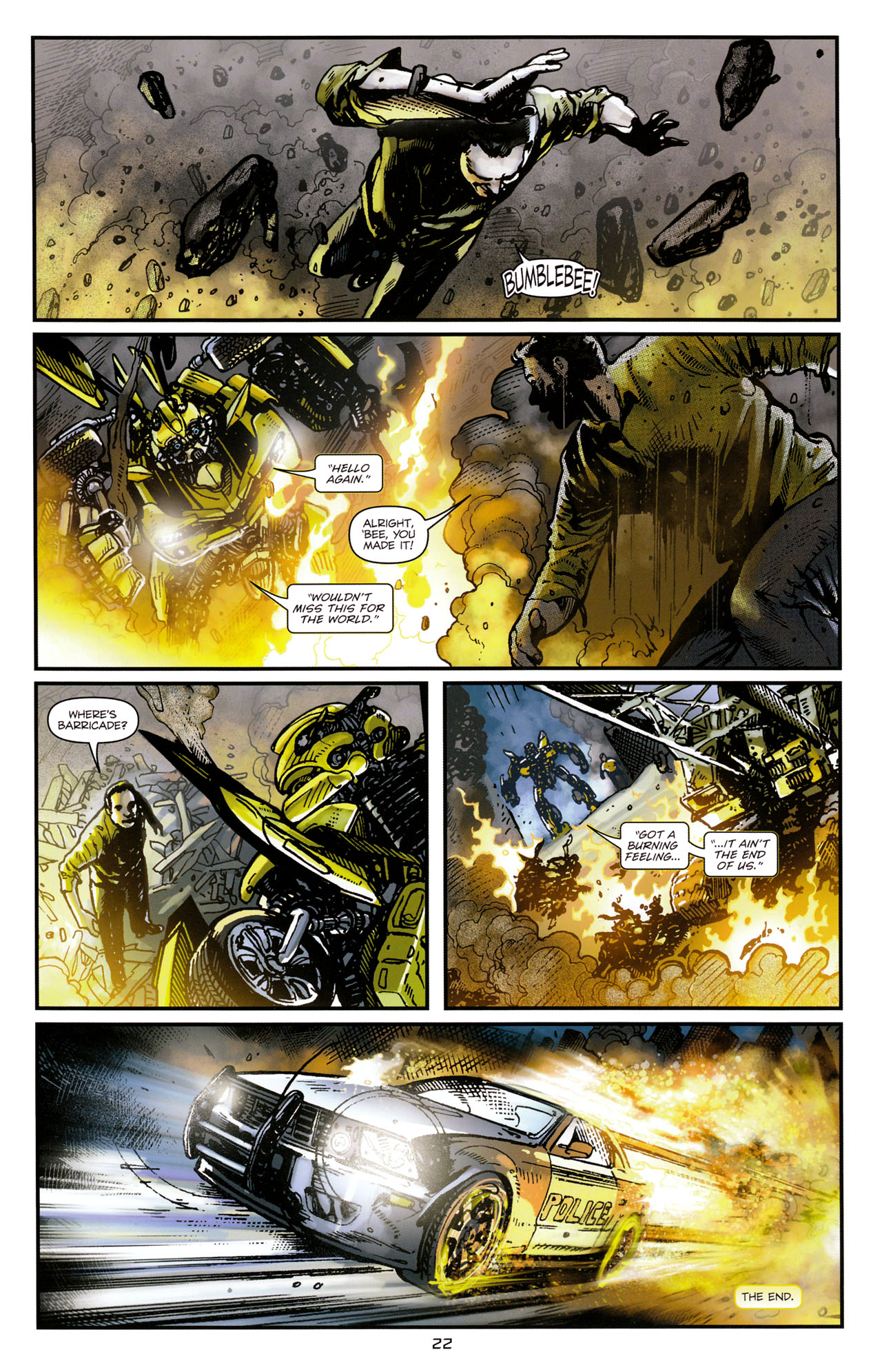 Read online Transformers: Tales of The Fallen comic -  Issue #1 - 24