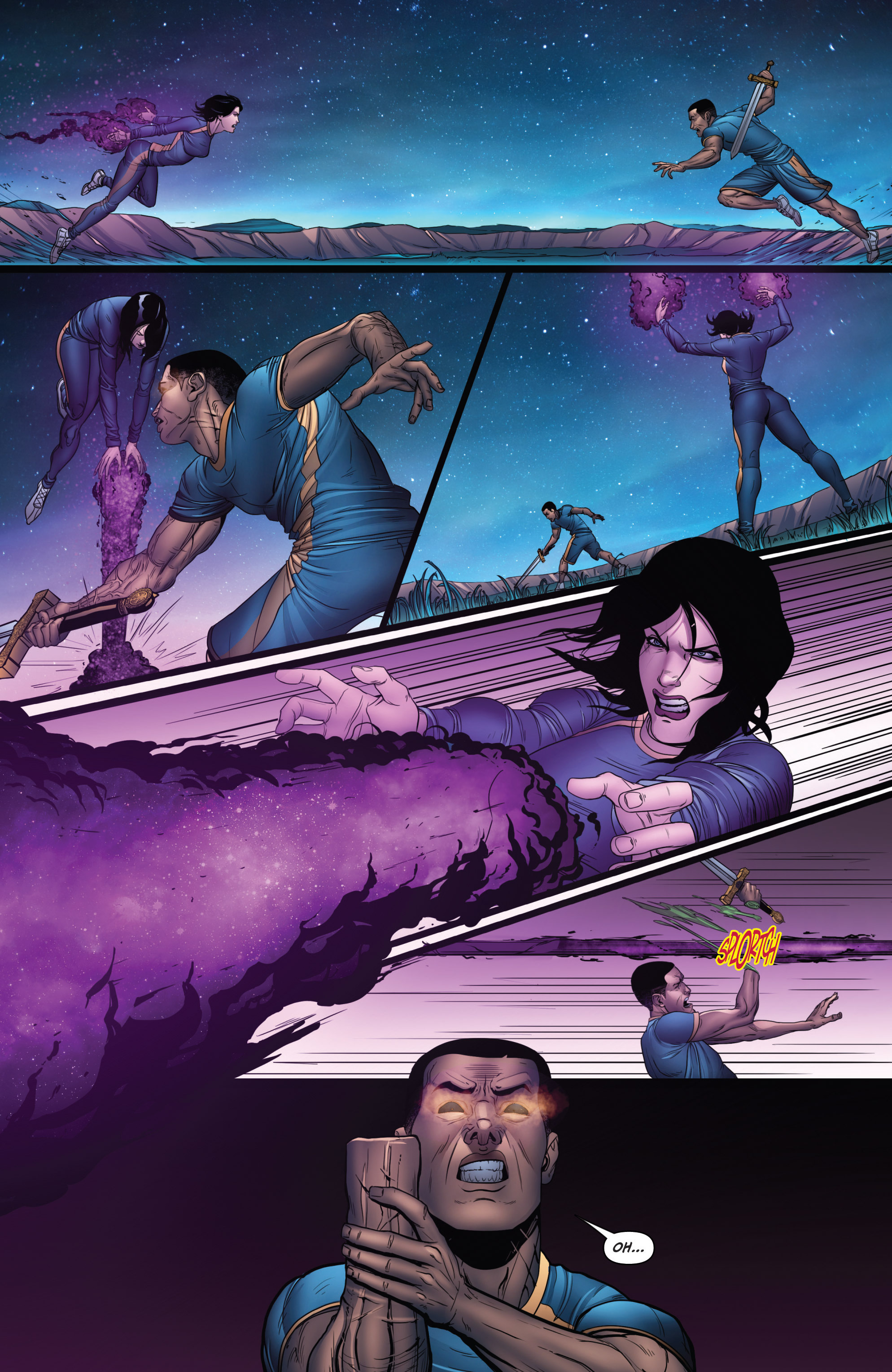 Read online Grimm Fairy Tales: Arcane Acre comic -  Issue # TPB 3 - 72