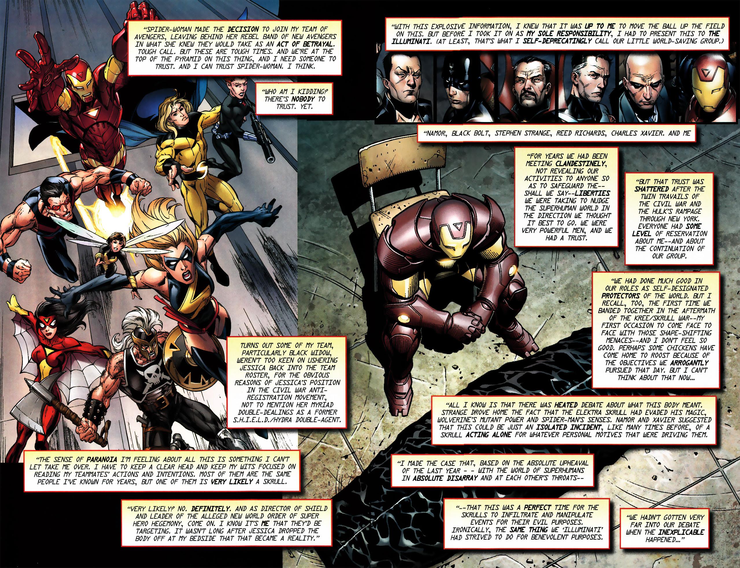 Read online Secret Invasion Saga comic -  Issue # Full - 6
