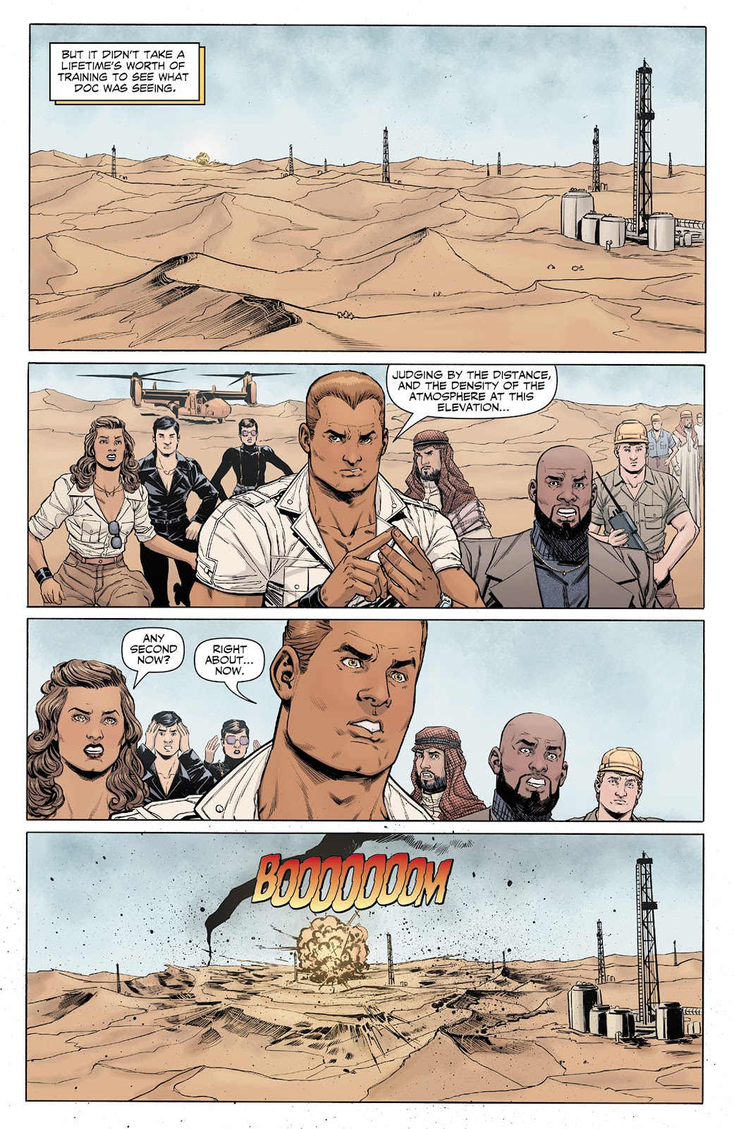 Doc Savage (2013) issue 4 - Page 11