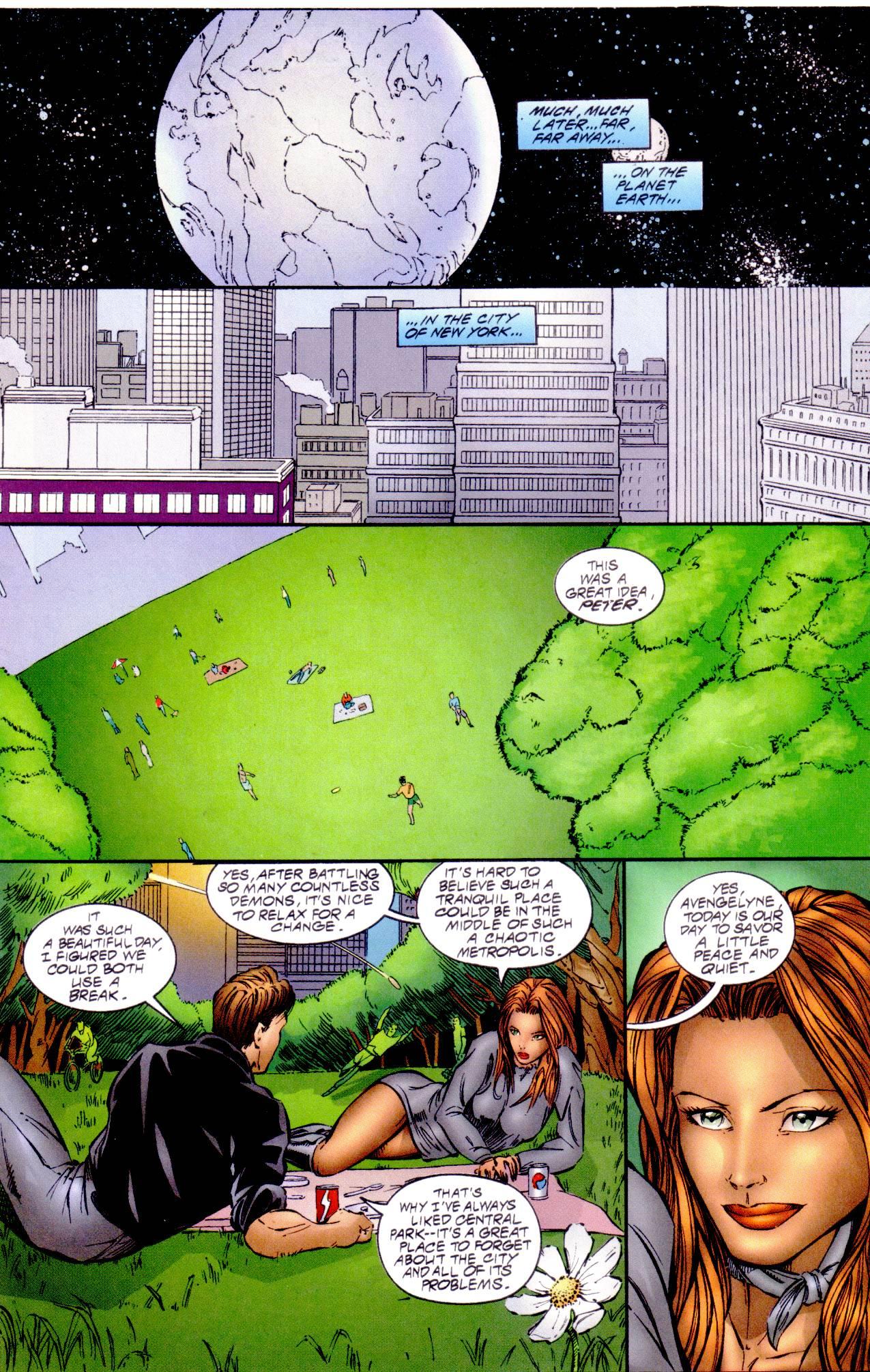 Read online Avengelyne (1996) comic -  Issue #14 - 7
