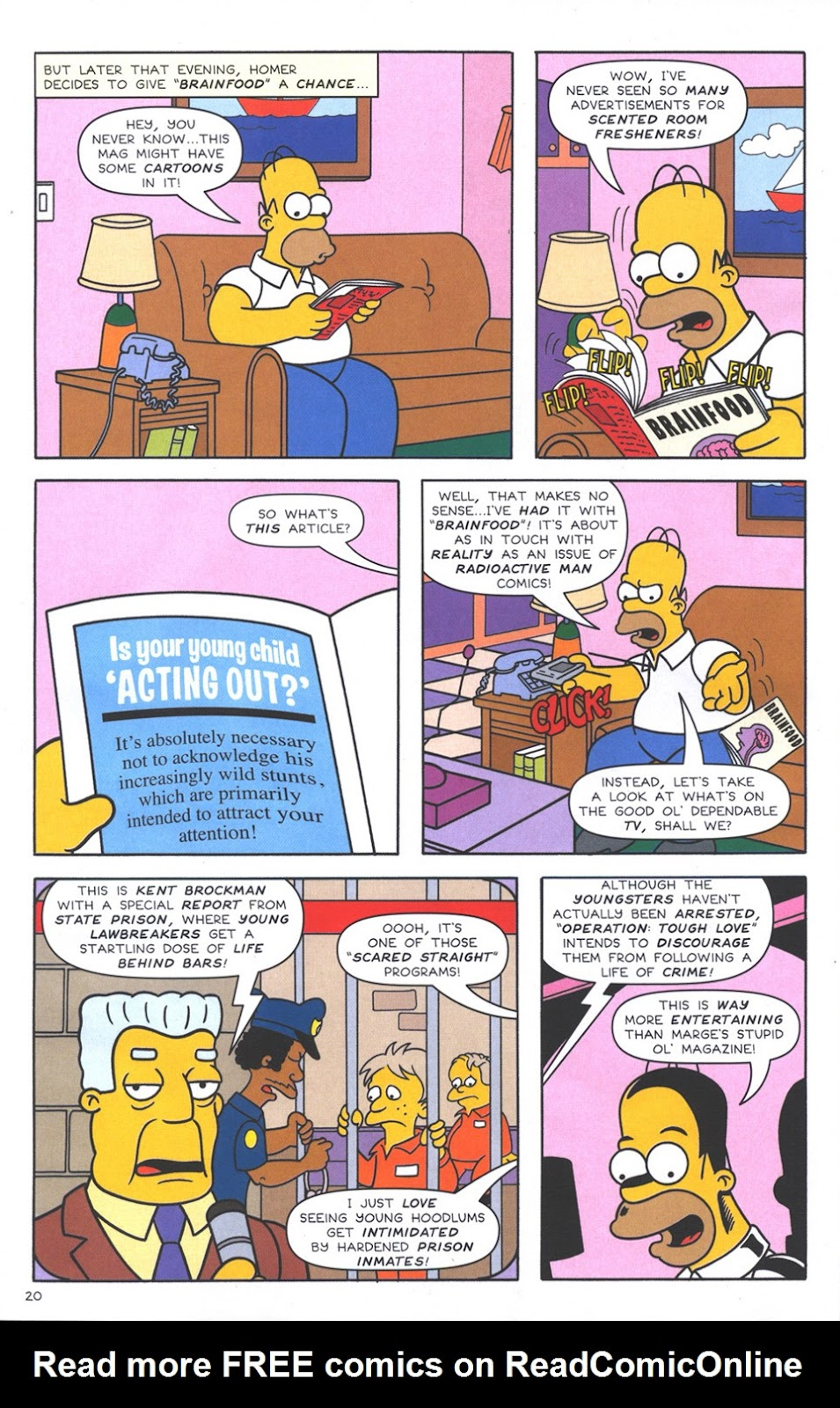 Read online The Simpsons Winter Wingding comic -  Issue #3 - 22