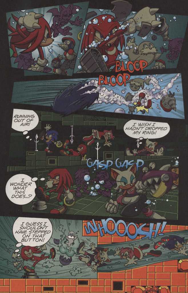 Read online Sonic X comic -  Issue #11 - 12