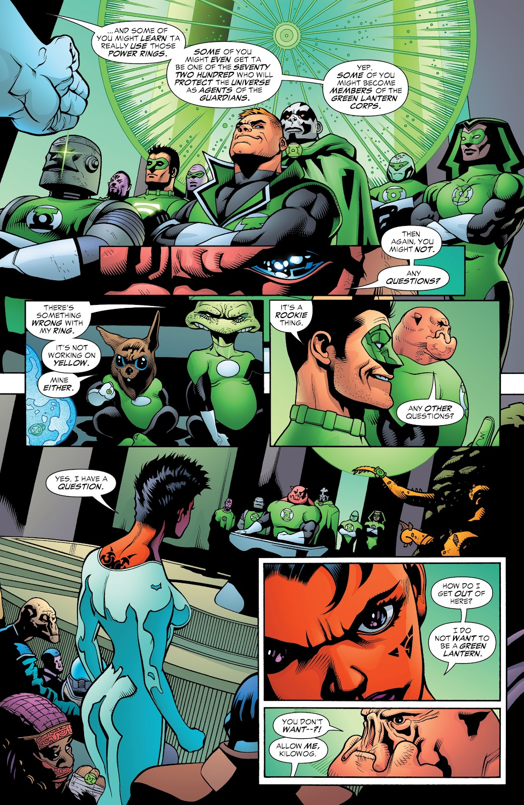 Read online Green Lantern by Geoff Johns comic -  Issue # TPB 1 (Part 2) - 95