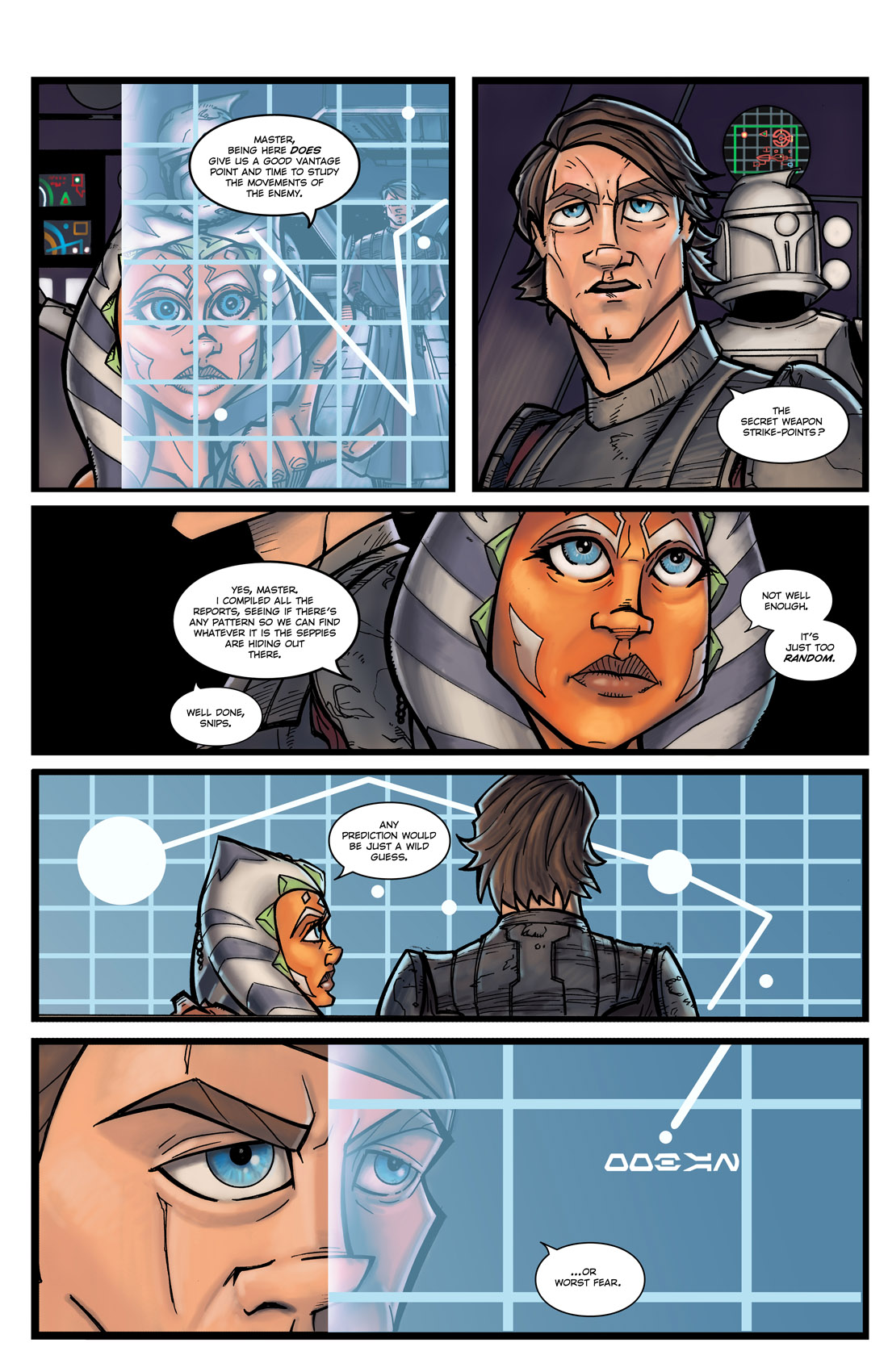 Read online Star Wars: Tales From The Clone Wars comic -  Issue # TPB - 13