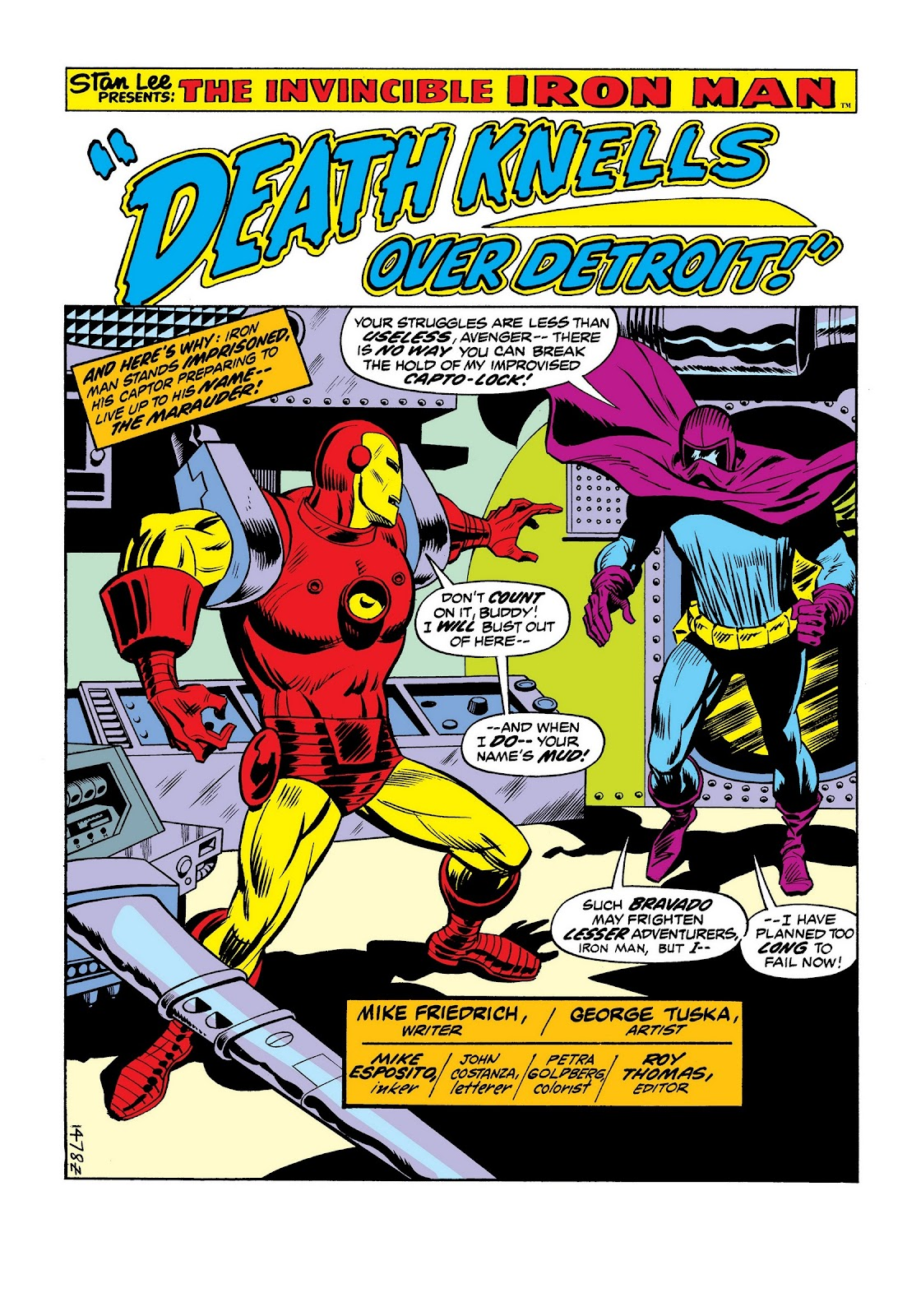Read online Marvel Masterworks: The Invincible Iron Man comic -  Issue # TPB 9 (Part 2) - 55