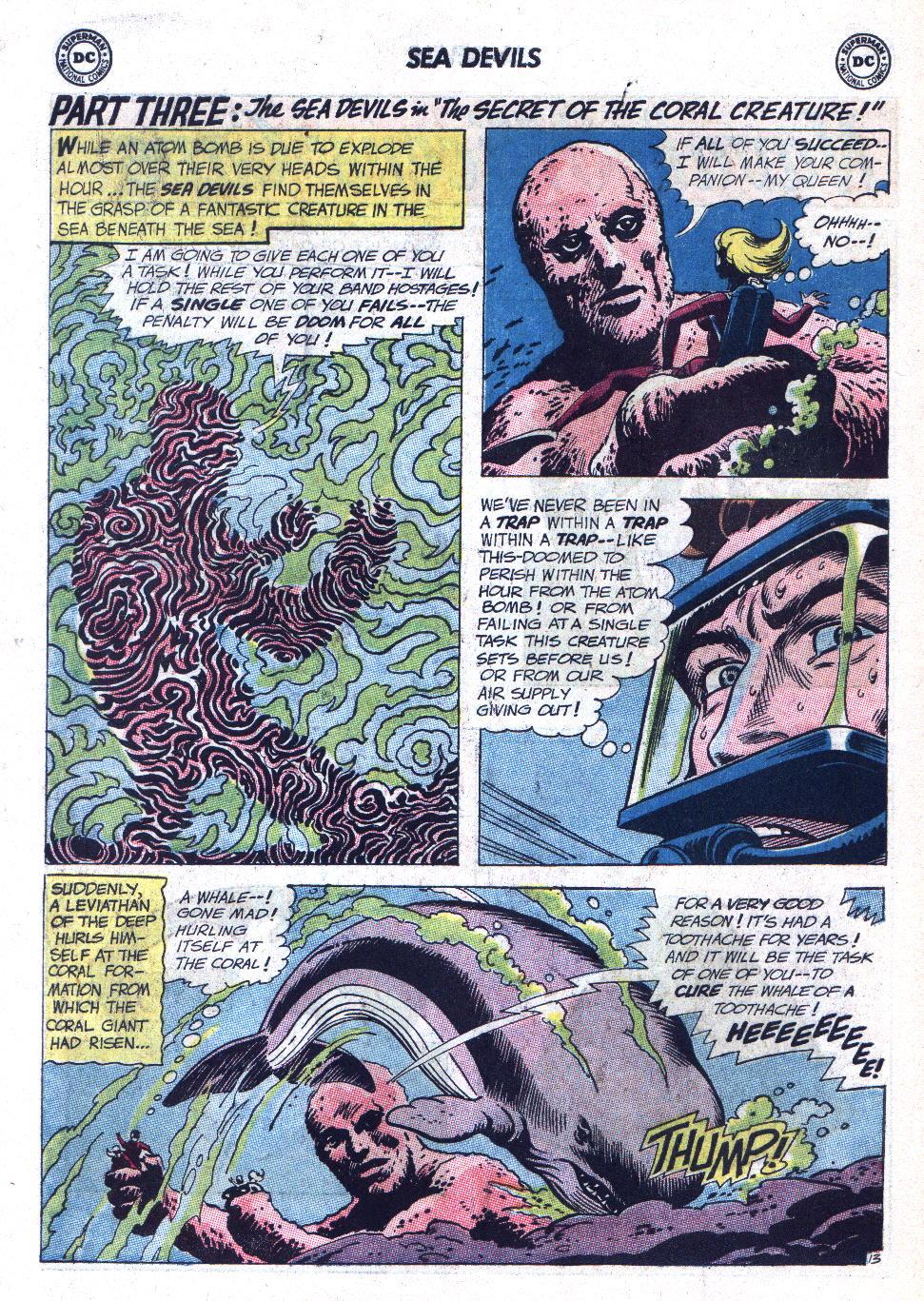 Read online Sea Devils comic -  Issue #9 - 19