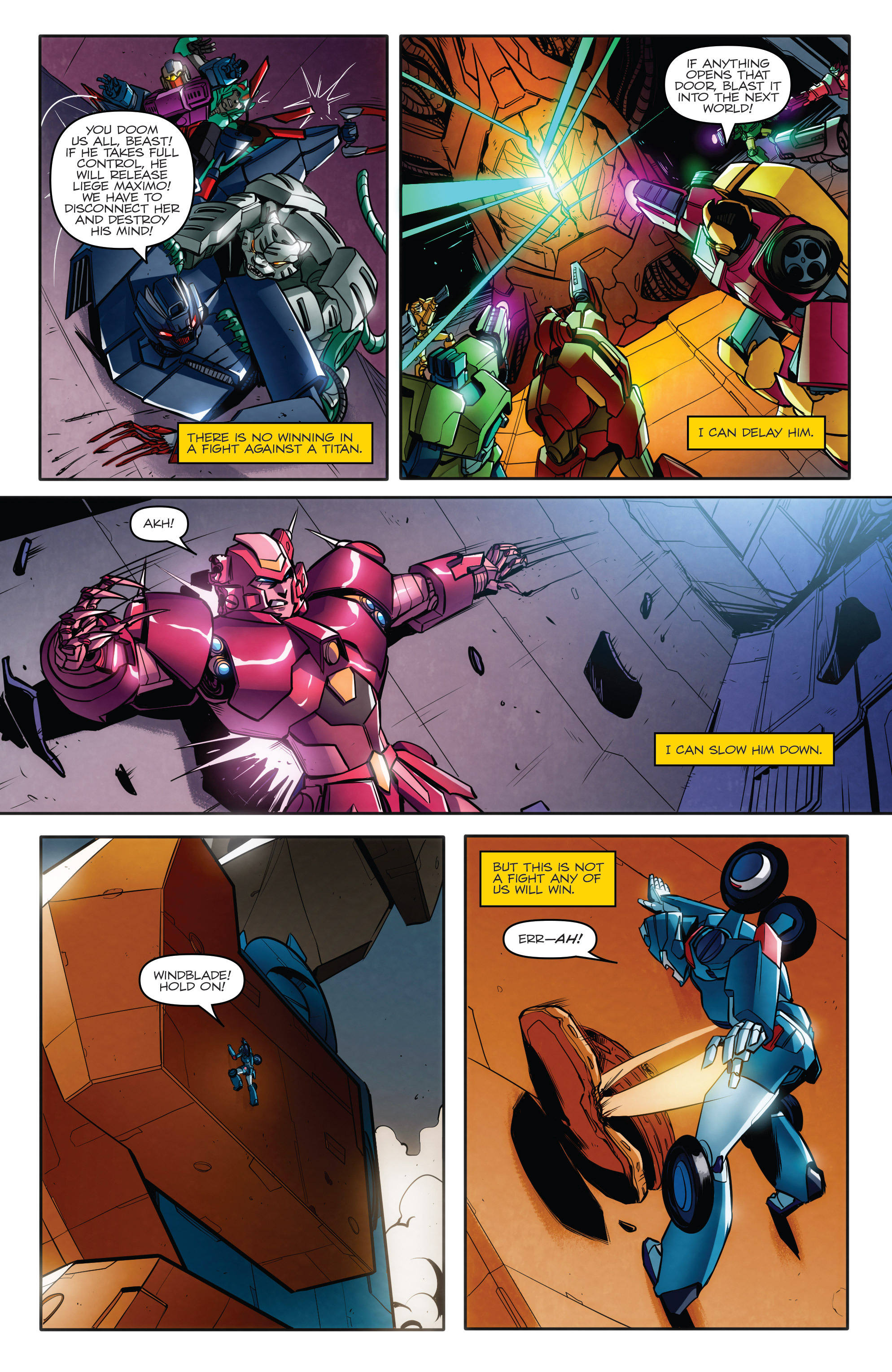 Read online Transformers: Till All Are One comic -  Issue #8 - 16
