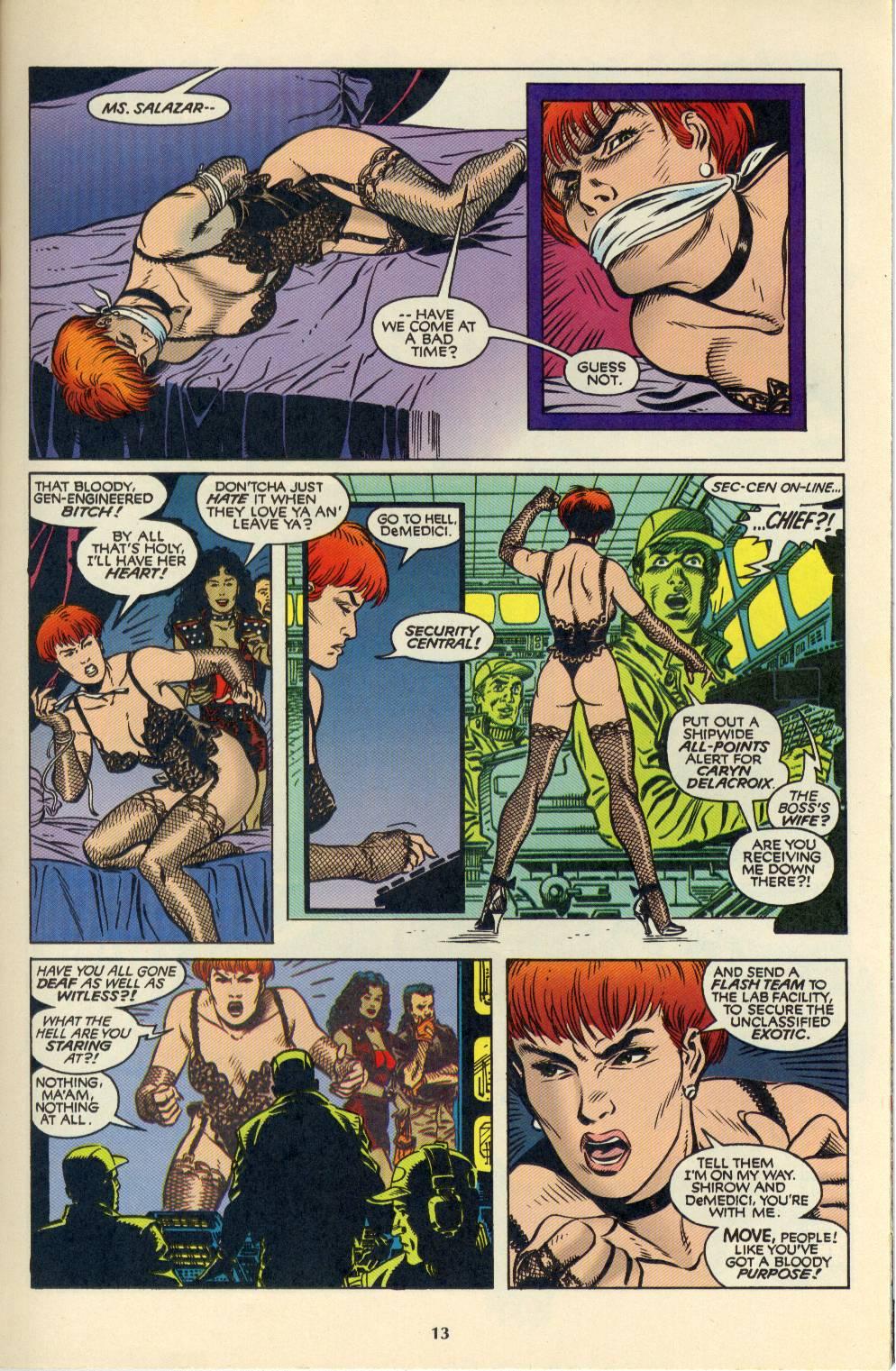 Read online Aliens/Predator: The Deadliest of the Species comic -  Issue #4 - 14