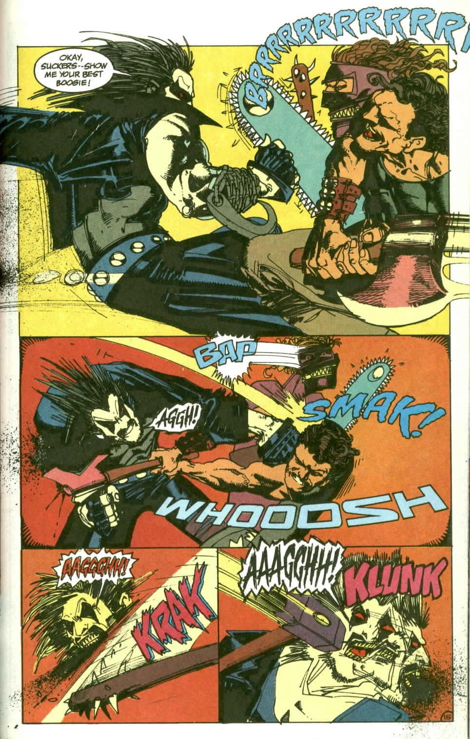 Read online Lobo (1990) comic -  Issue #2 - 16