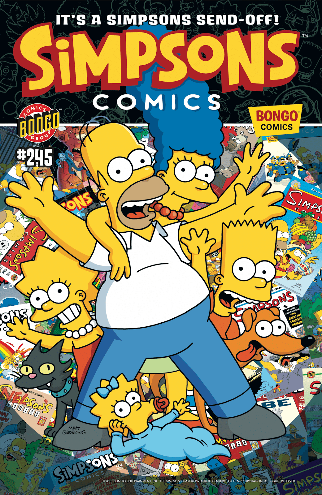 Simpsons Comics issue 245 - Page 1