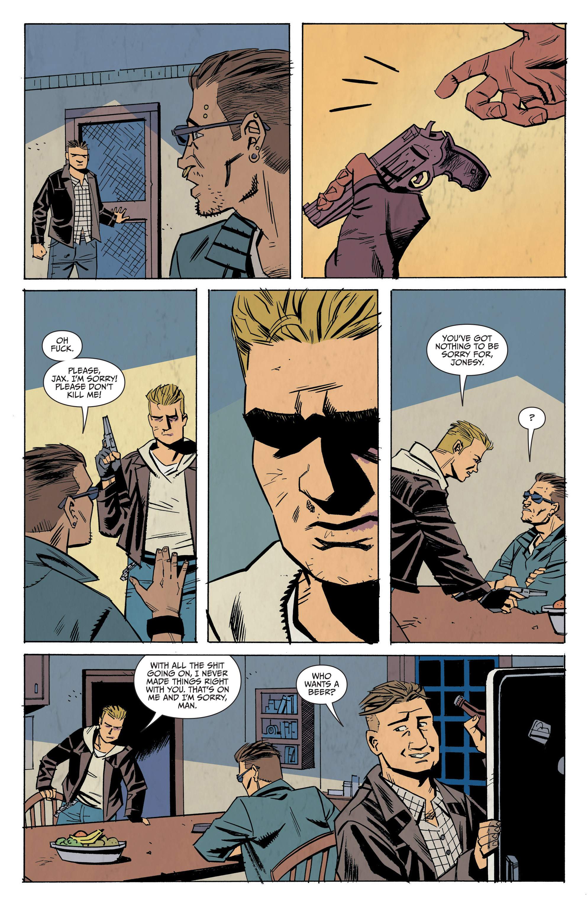 Read online Sons of Anarchy: Redwood Original comic -  Issue #7 - 5