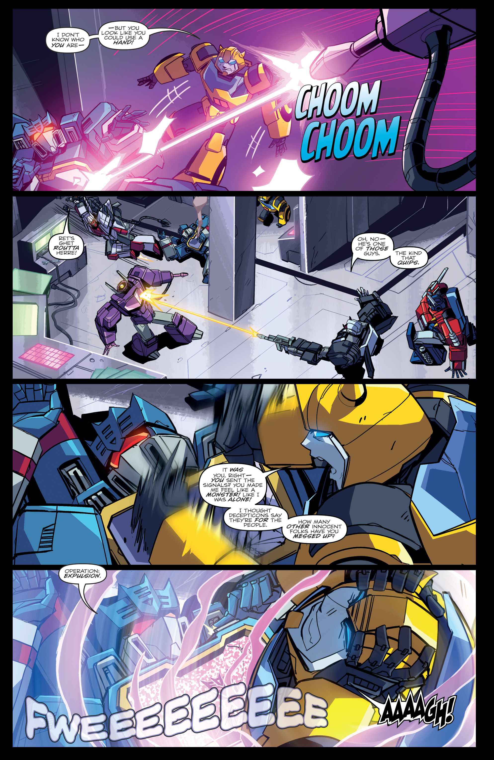 Read online Transformers Annual comic -  Issue # Full - 20