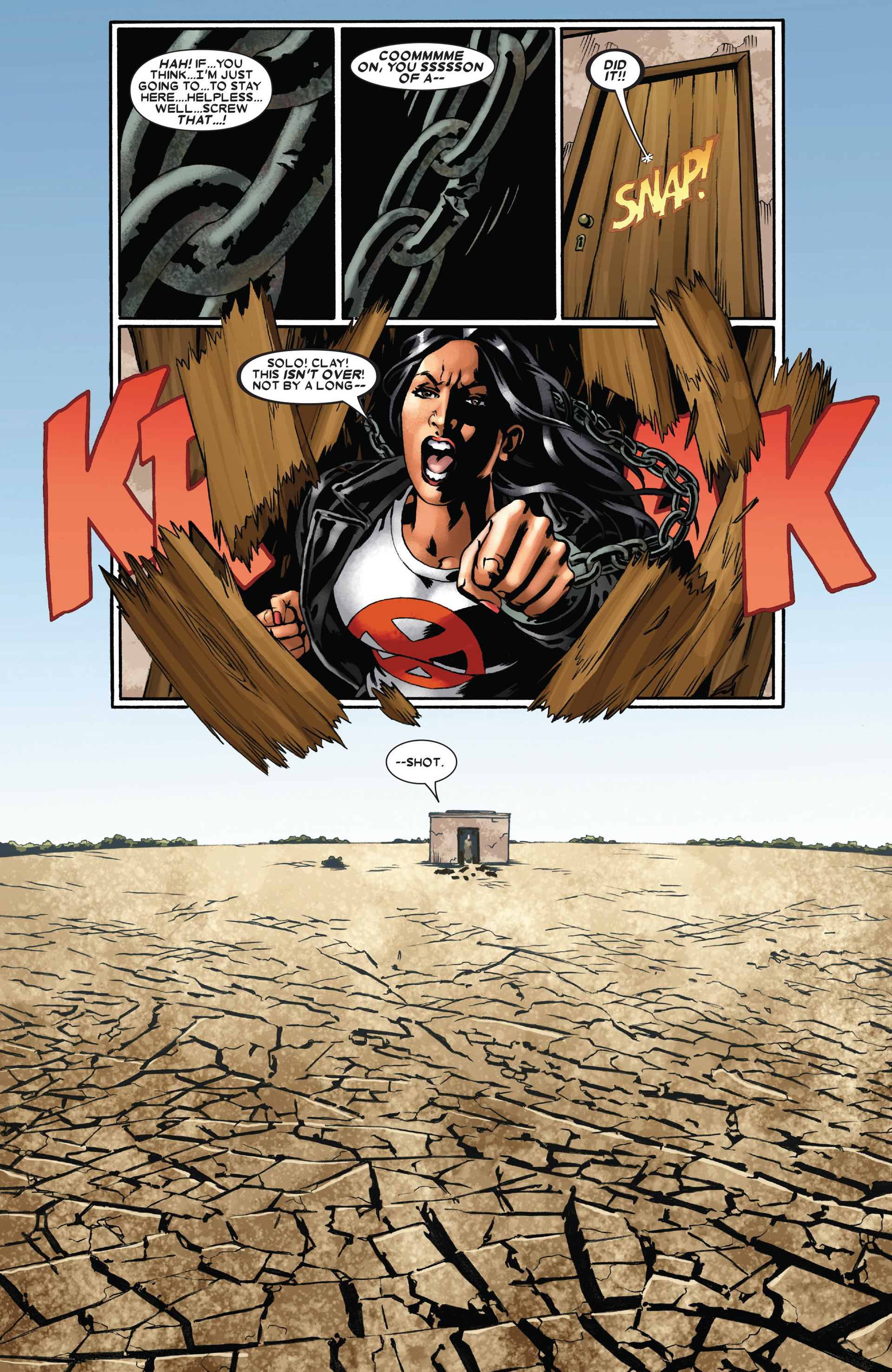 Read online X-Factor (2006) comic -  Issue #22 - 19