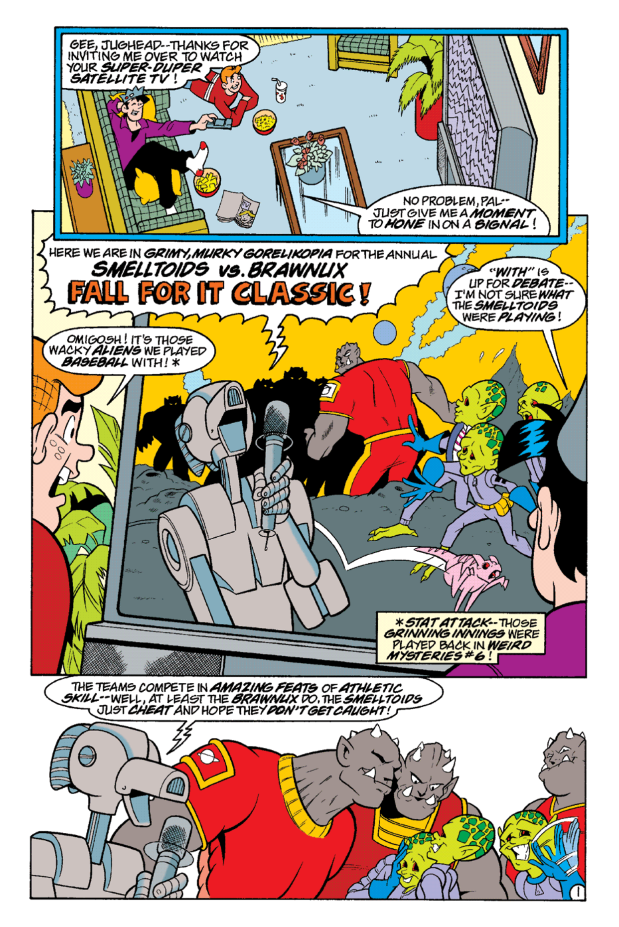 Read online Archie's Weird Mysteries comic -  Issue #16 - 20