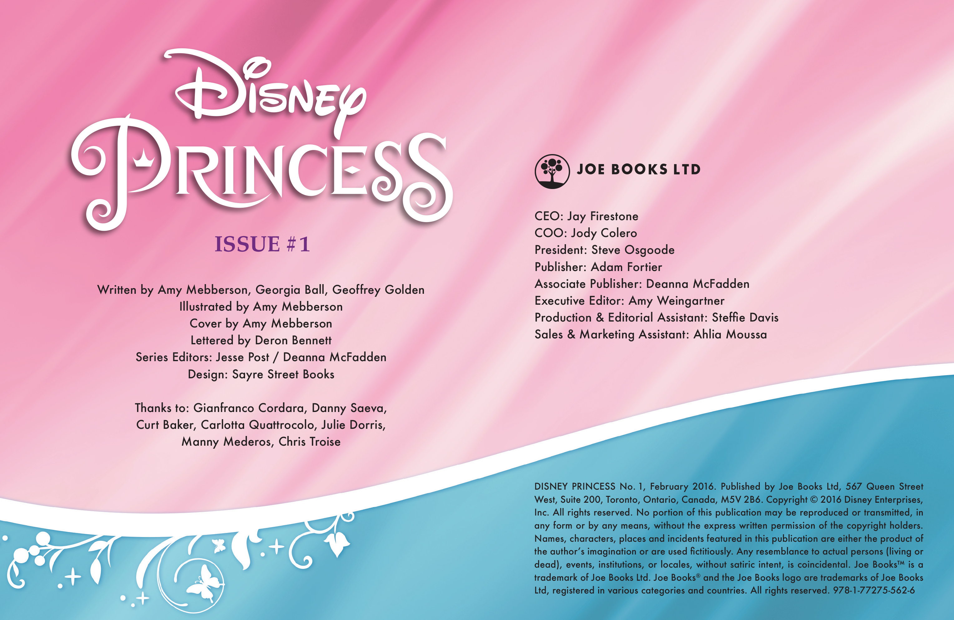 Read online Disney Princess comic -  Issue #1 - 2