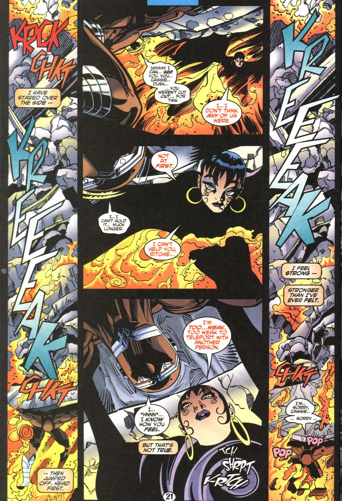 Read online Slingers comic -  Issue #5 - 22