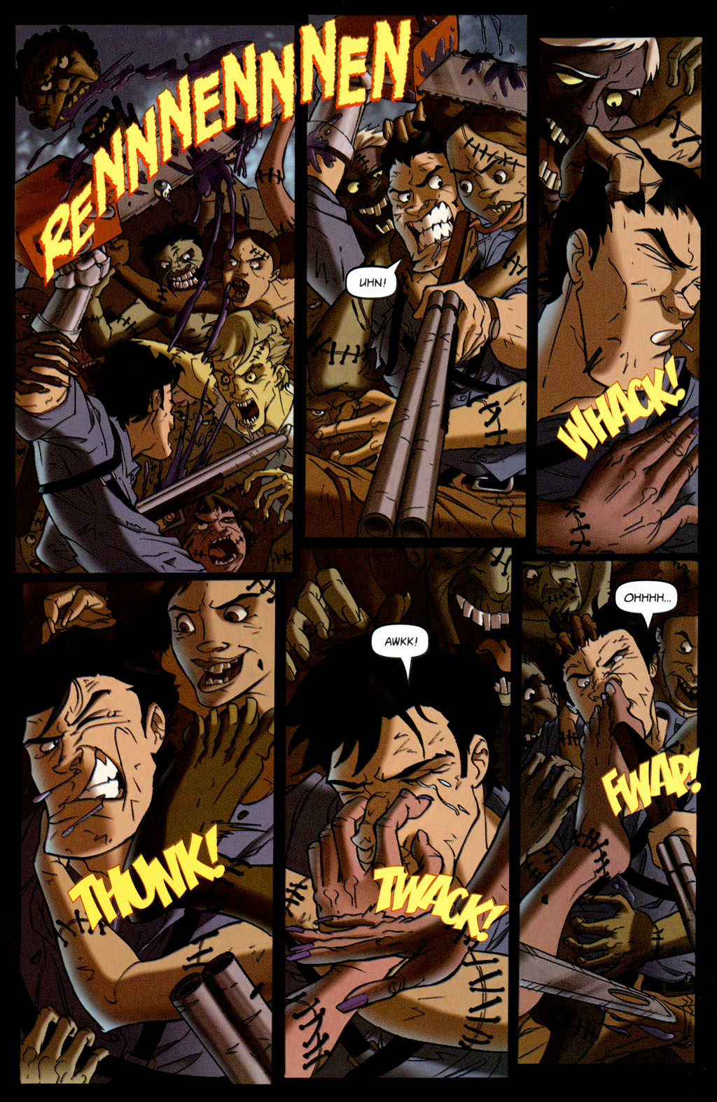 Read online Army of Darkness vs. Re-Animator comic -  Issue #4 - 15