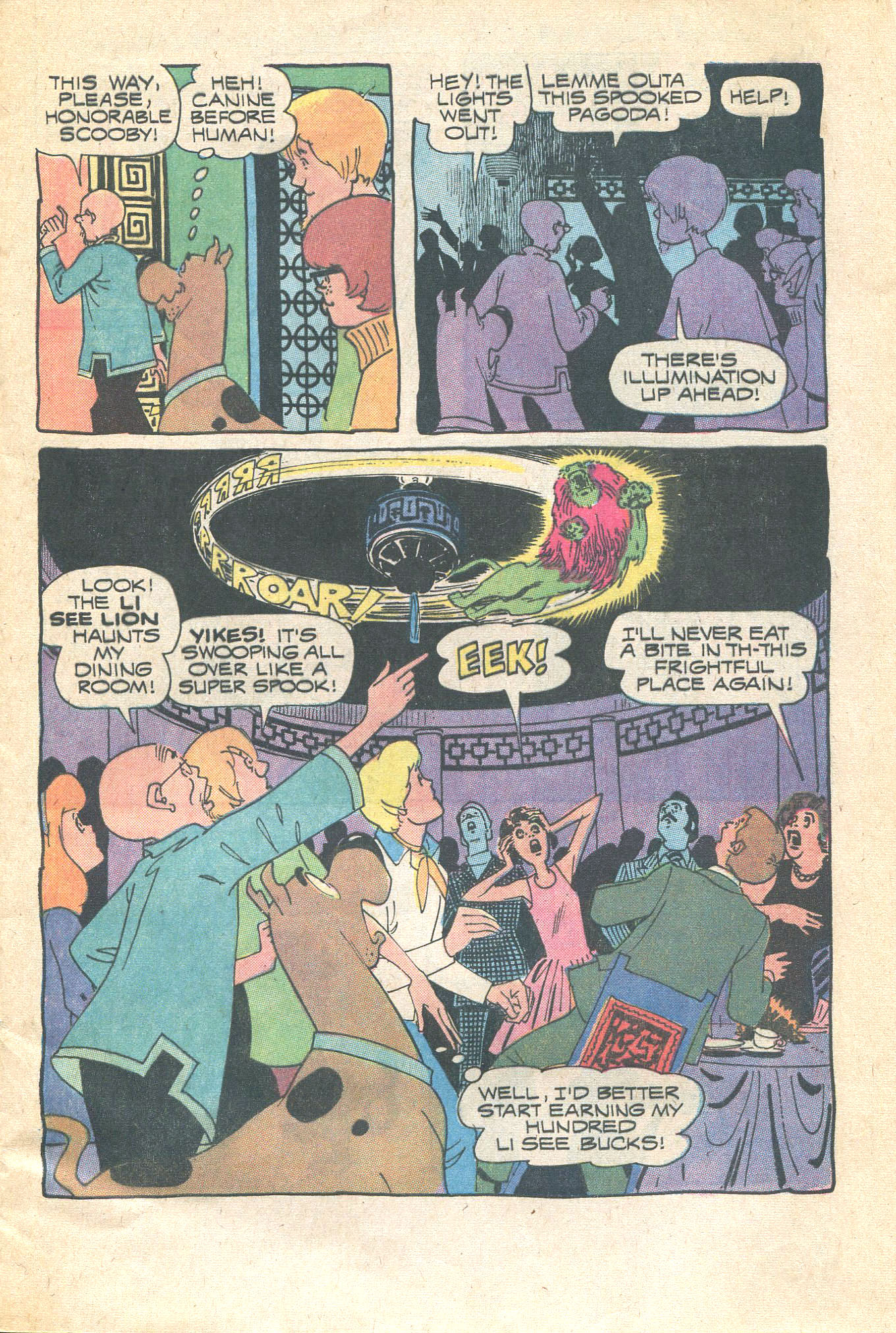 Read online Scooby-Doo... Where Are You! (1970) comic -  Issue #16 - 5