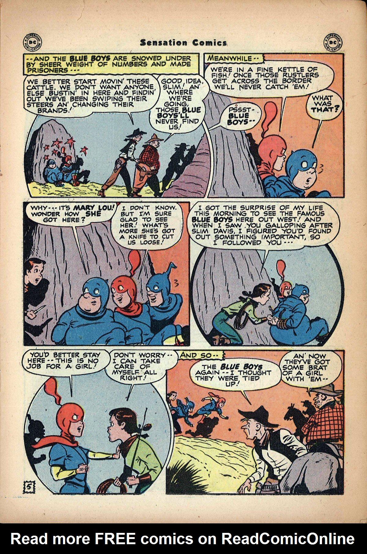 Read online Sensation (Mystery) Comics comic -  Issue #62 - 21