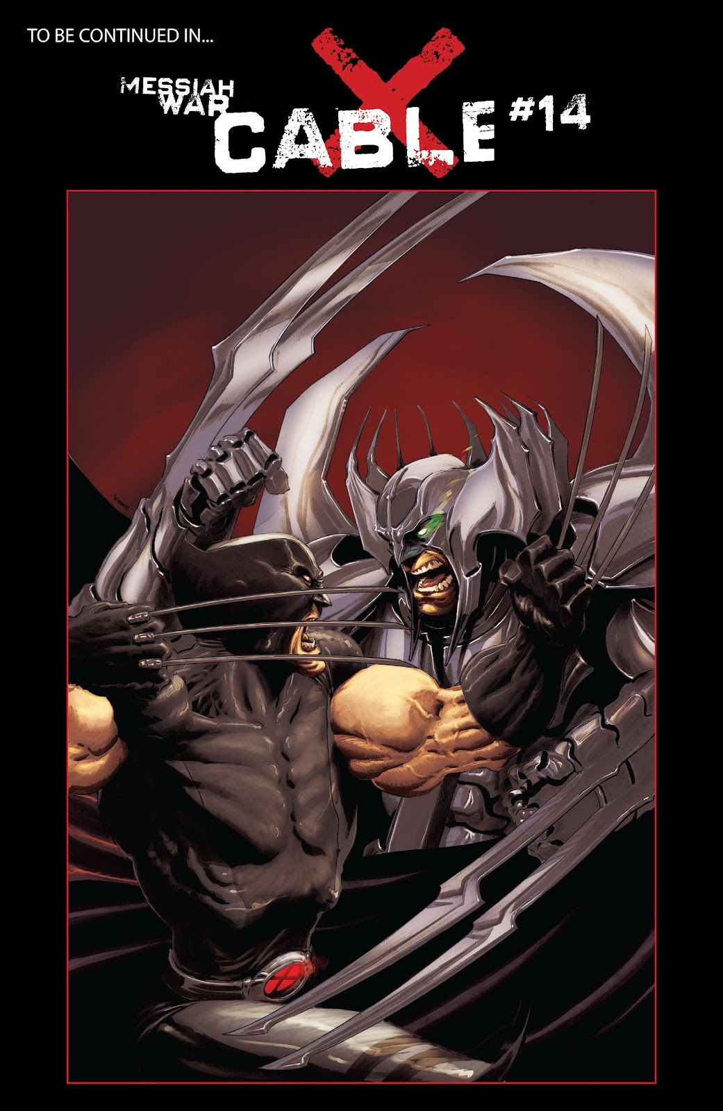Read online X-Force/Cable: Messiah War comic -  Issue # _TPB (Part 2) - 40