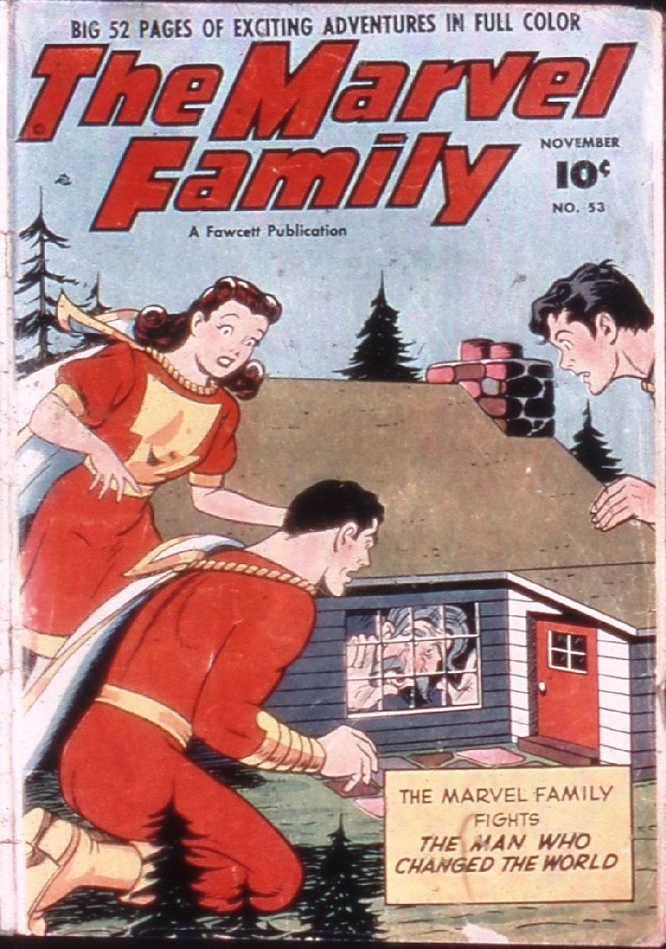 The Marvel Family 53 Page 1
