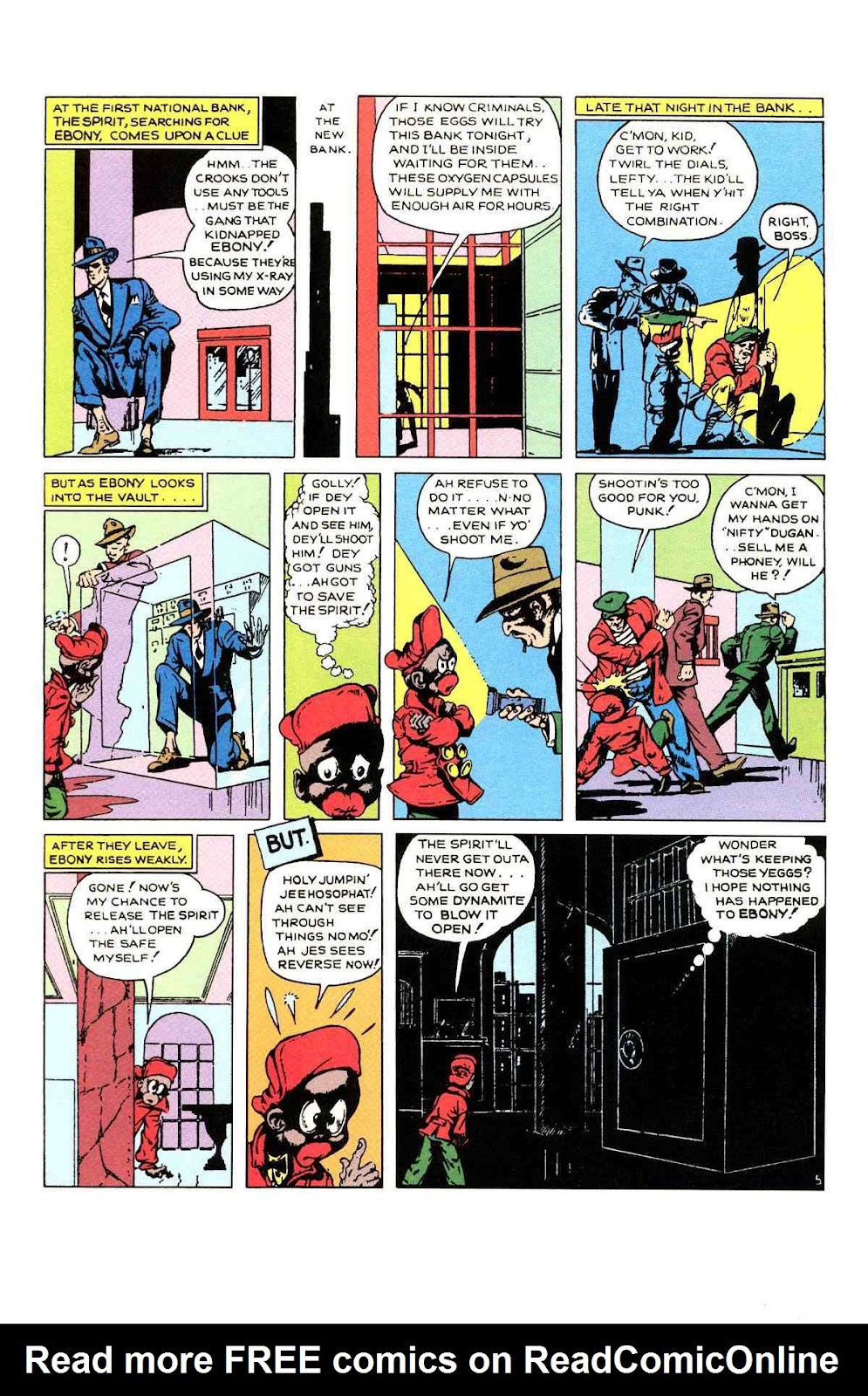 Read online Will Eisner's The Spirit Archives comic -  Issue # TPB 1 (Part 2) - 11