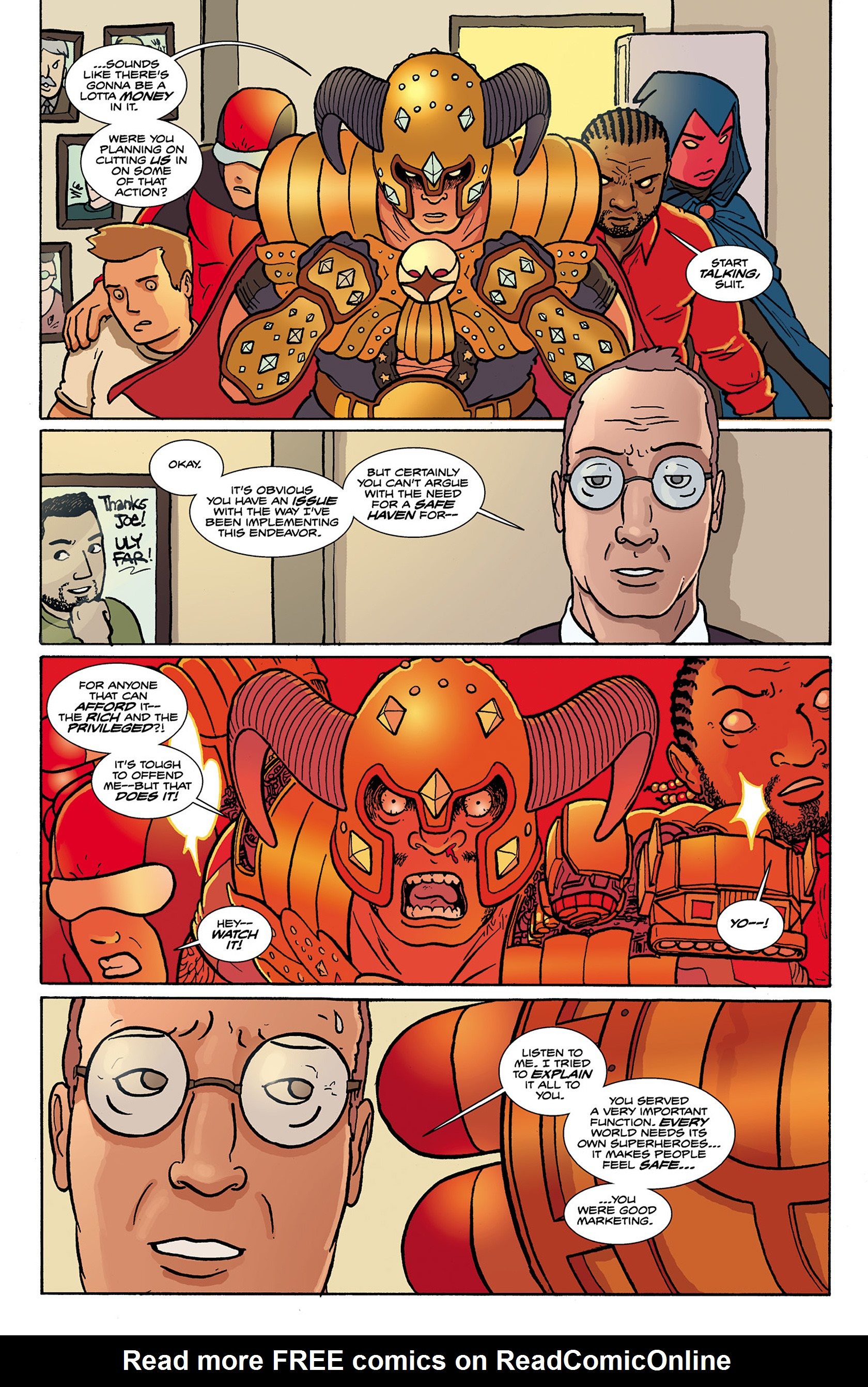 Read online Catalyst Comix comic -  Issue #9 - 12