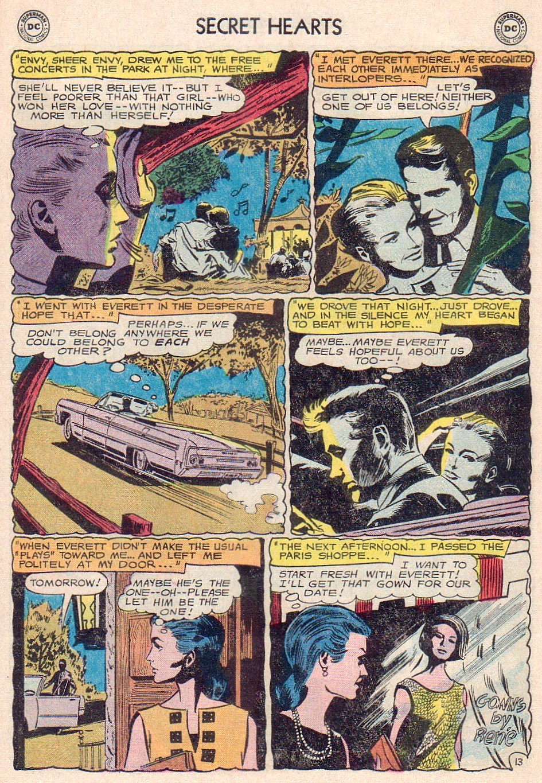 Read online Secret Hearts comic -  Issue #102 - 31
