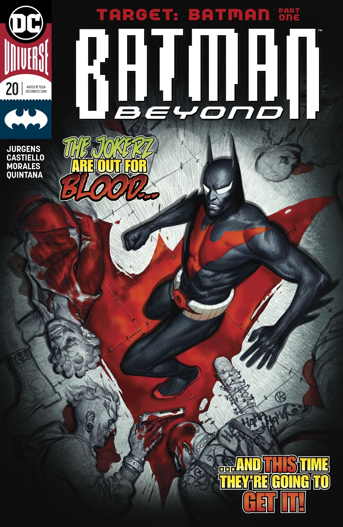 Batman Beyond (2016) 20 Page 1