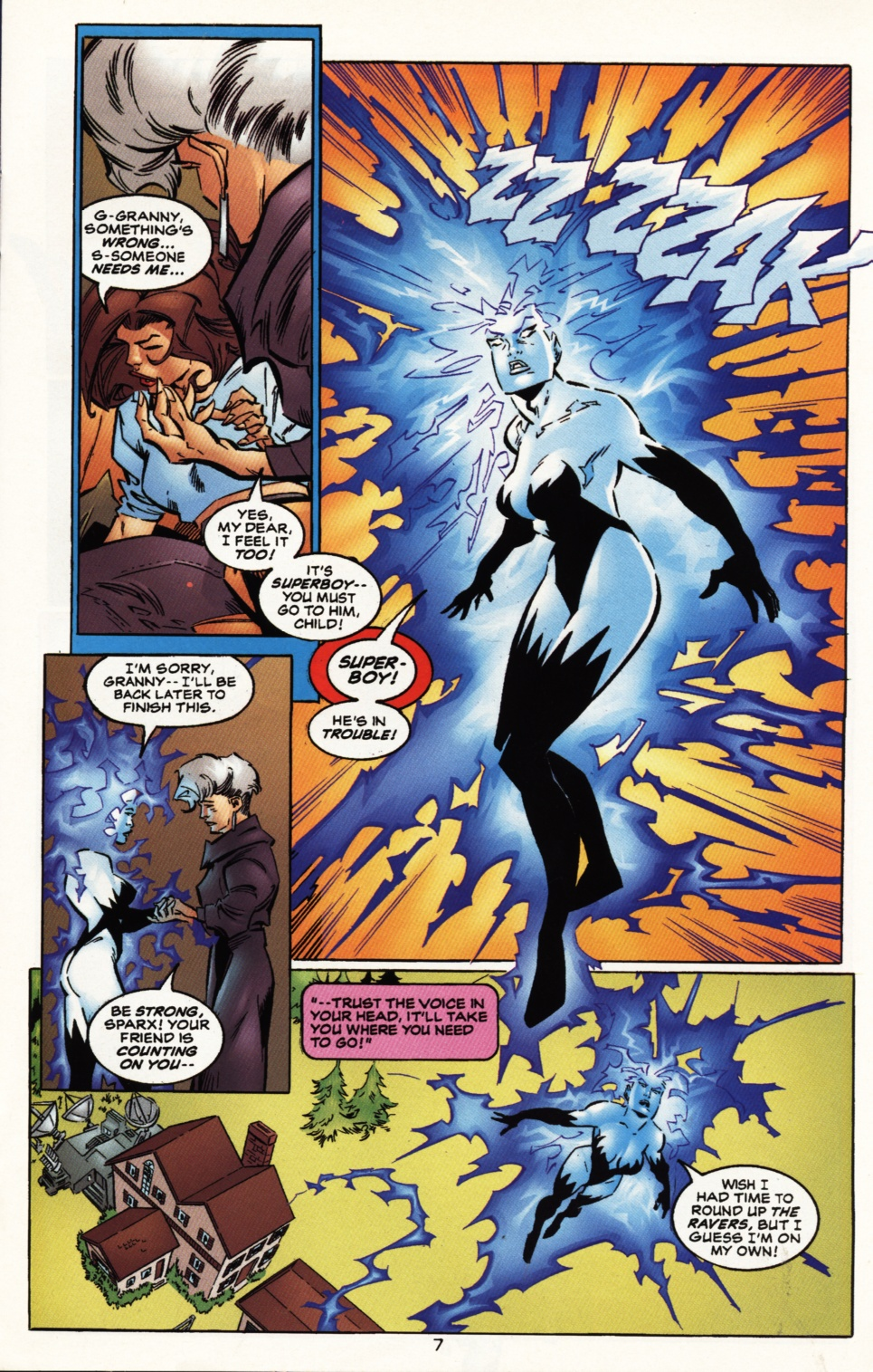 Read online Superboy & The Ravers comic -  Issue #10 - 8