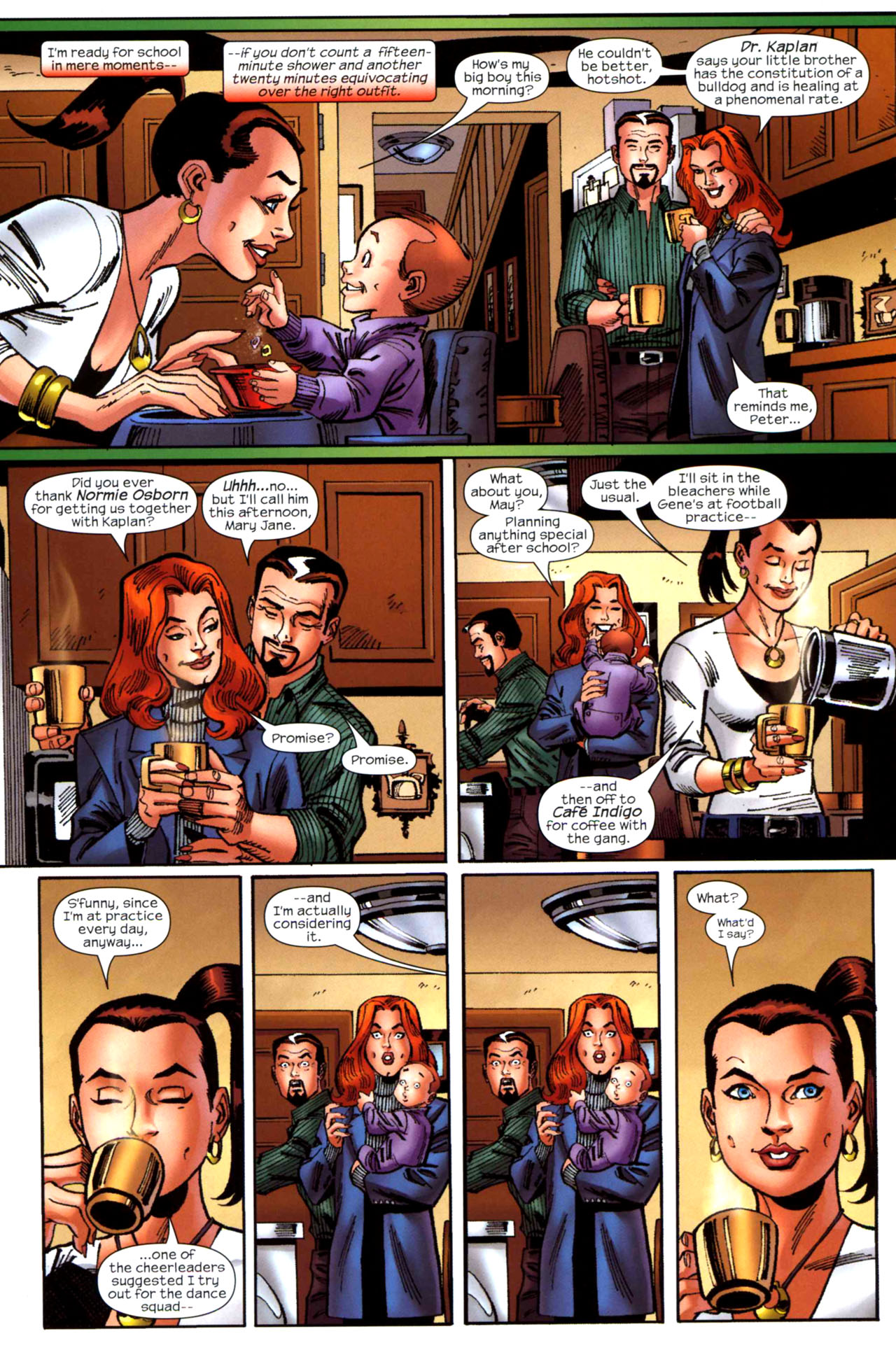 Read online Amazing Spider-Girl comic -  Issue #20 - 5